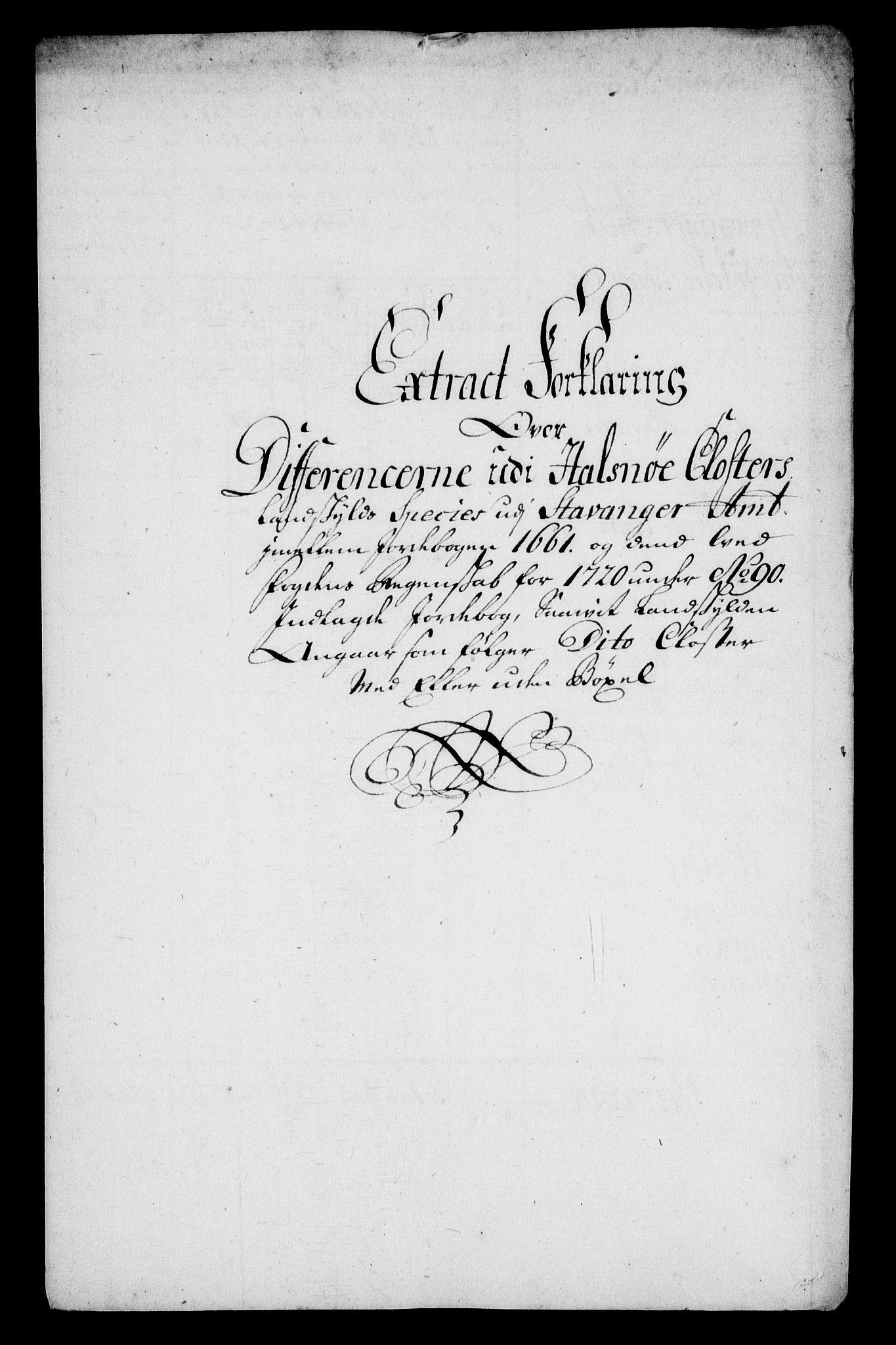 RA, Rentekammeret inntil 1814, Realistisk ordnet avdeling, On/L0005: [Jj 6]: Forskjellige dokumenter om Halsnøy klosters gods, 1697-1770, s. 399