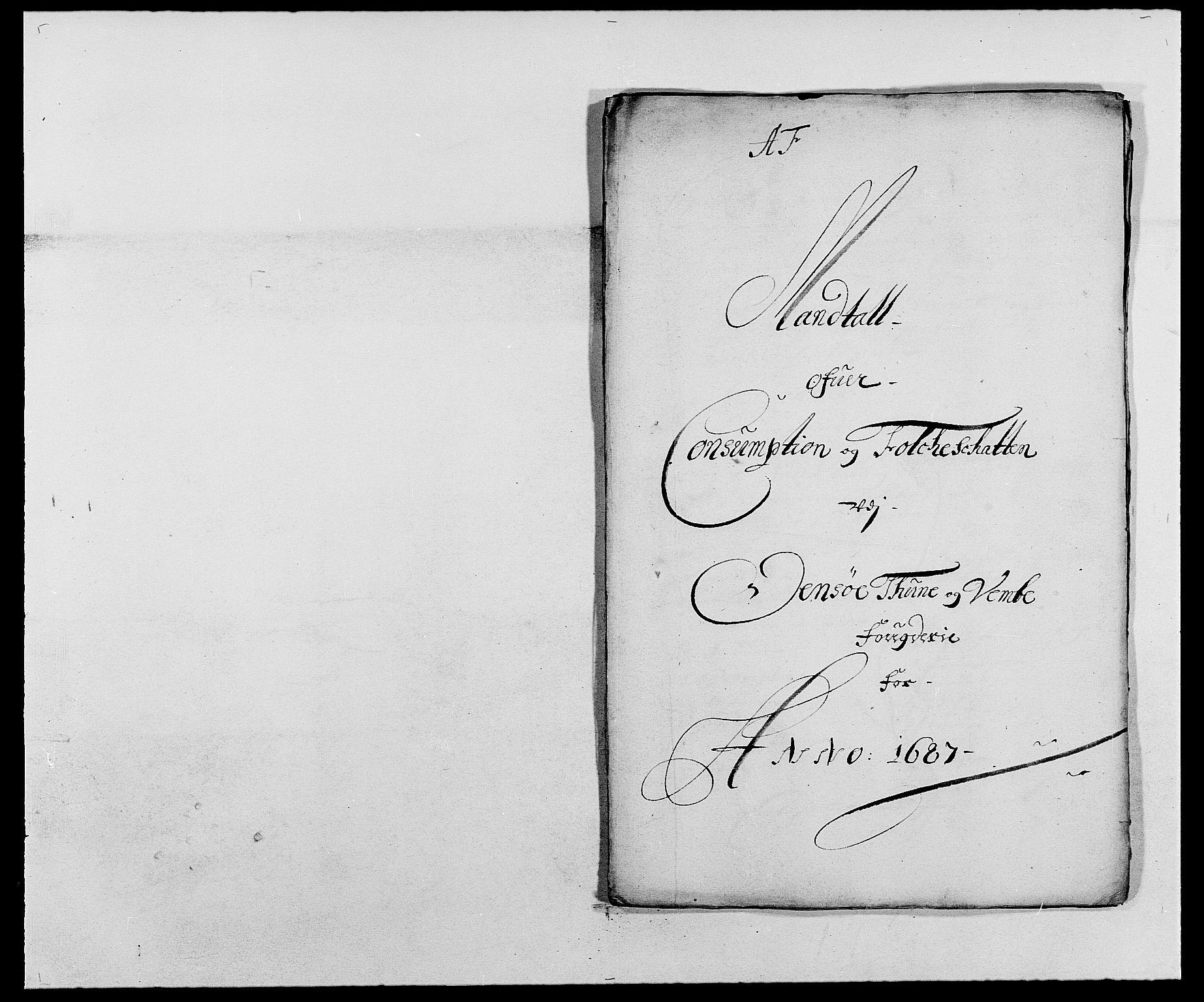 RA, Rentekammeret inntil 1814, Reviderte regnskaper, Fogderegnskap, R03/L0117: Fogderegnskap Onsøy, Tune, Veme og Åbygge fogderi, 1684-1689, s. 120