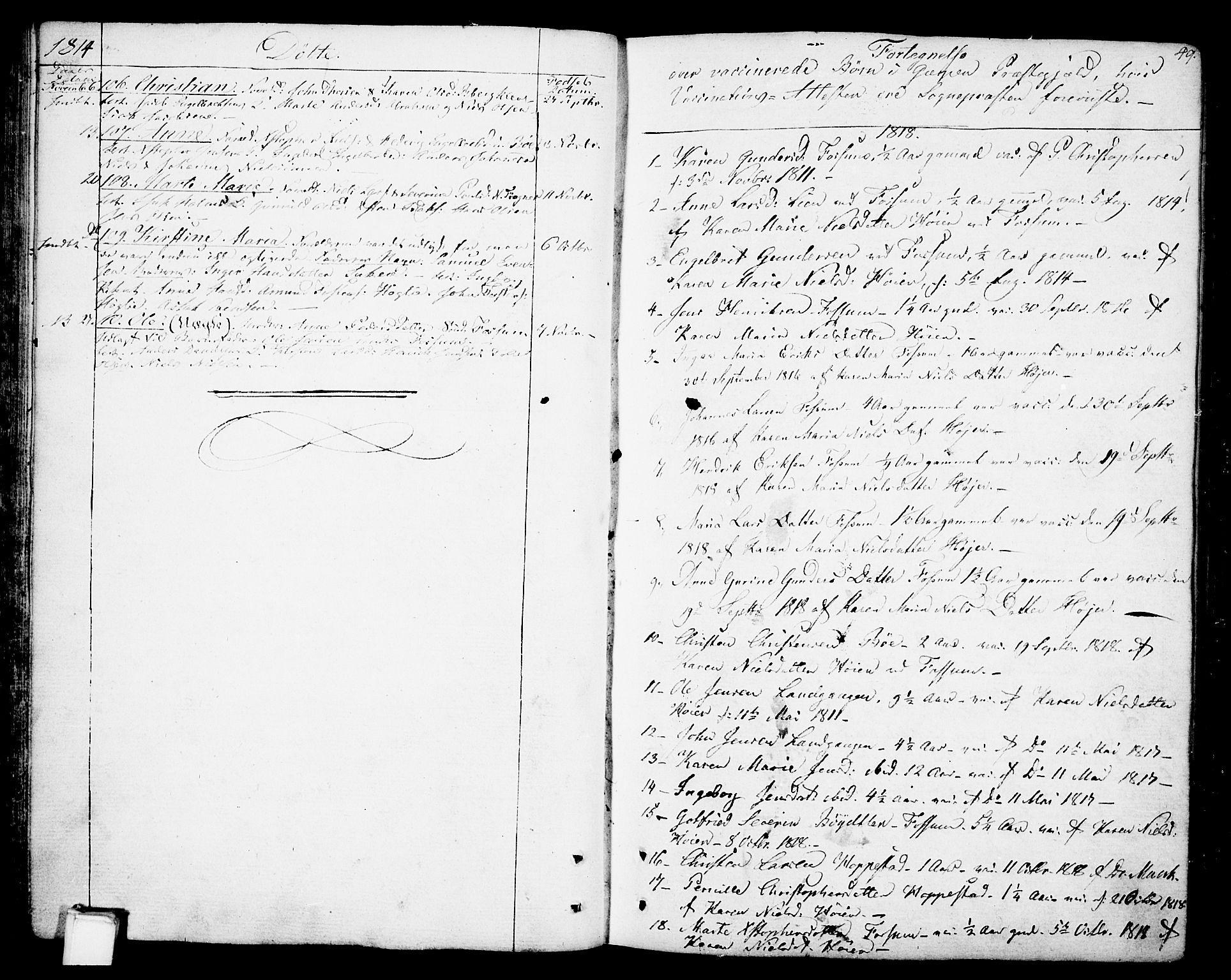 SAKO, Gjerpen kirkebøker, F/Fa/L0003: Ministerialbok nr. 3, 1796-1814, s. 49