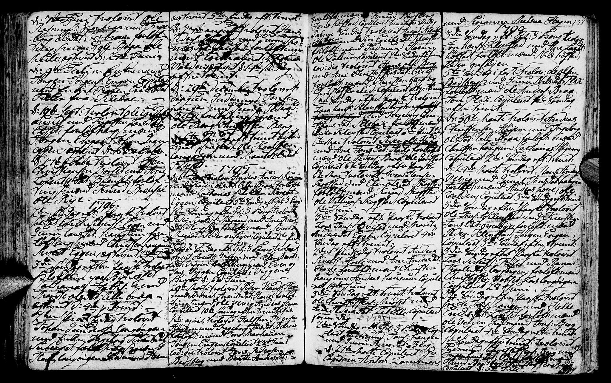 SAT, Ministerialprotokoller, klokkerbøker og fødselsregistre - Sør-Trøndelag, 612/L0370: Ministerialbok nr. 612A04, 1754-1802, s. 138