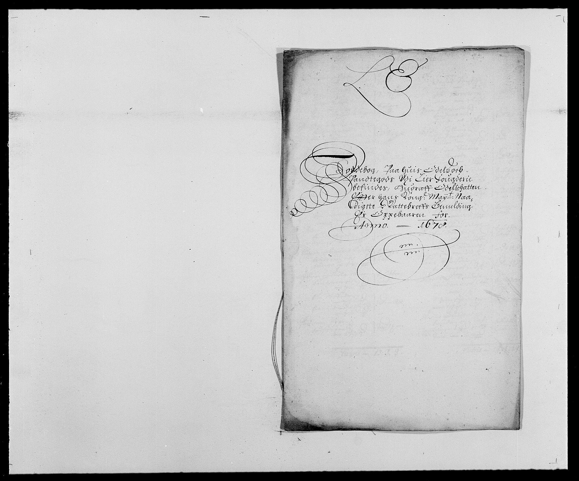 RA, Rentekammeret inntil 1814, Reviderte regnskaper, Fogderegnskap, R27/L1686: Fogderegnskap Lier, 1678-1686, s. 87