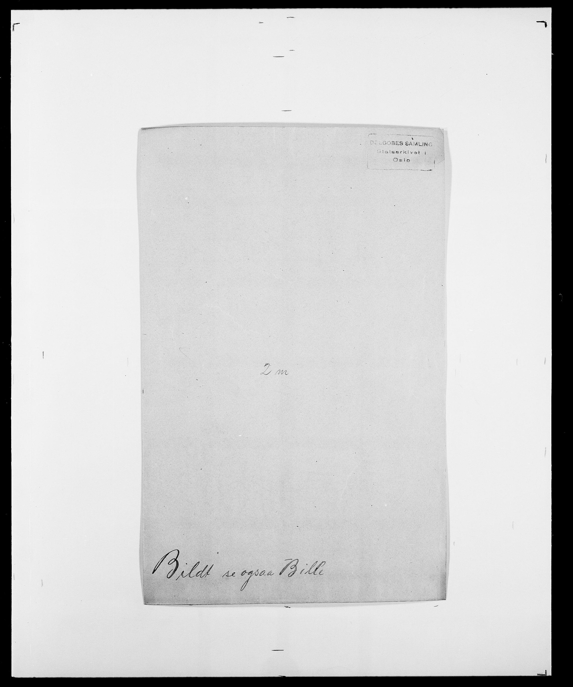 SAO, Delgobe, Charles Antoine - samling, D/Da/L0004: Bergendahl - Blære, s. 270