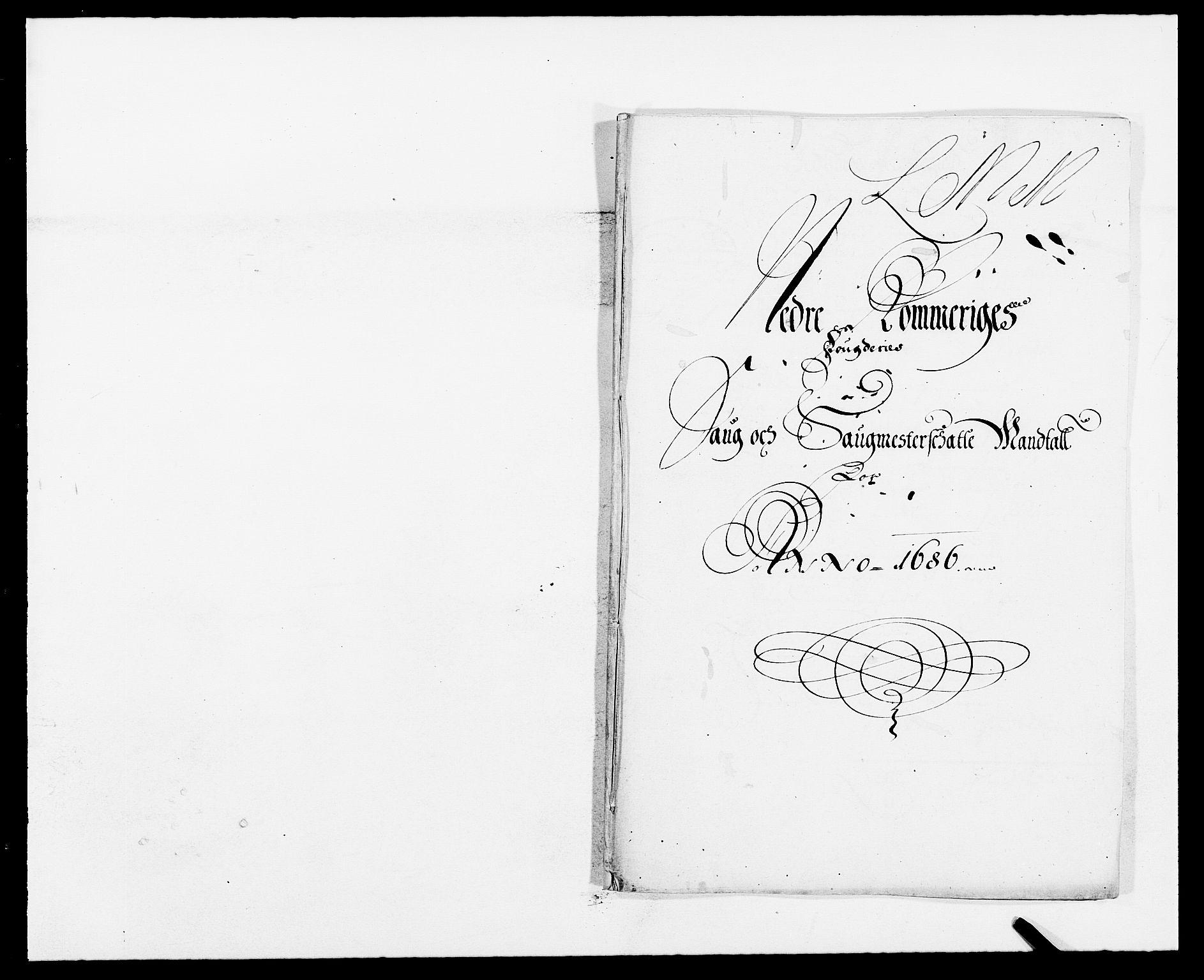 RA, Rentekammeret inntil 1814, Reviderte regnskaper, Fogderegnskap, R11/L0572: Fogderegnskap Nedre Romerike, 1686-1687, s. 76