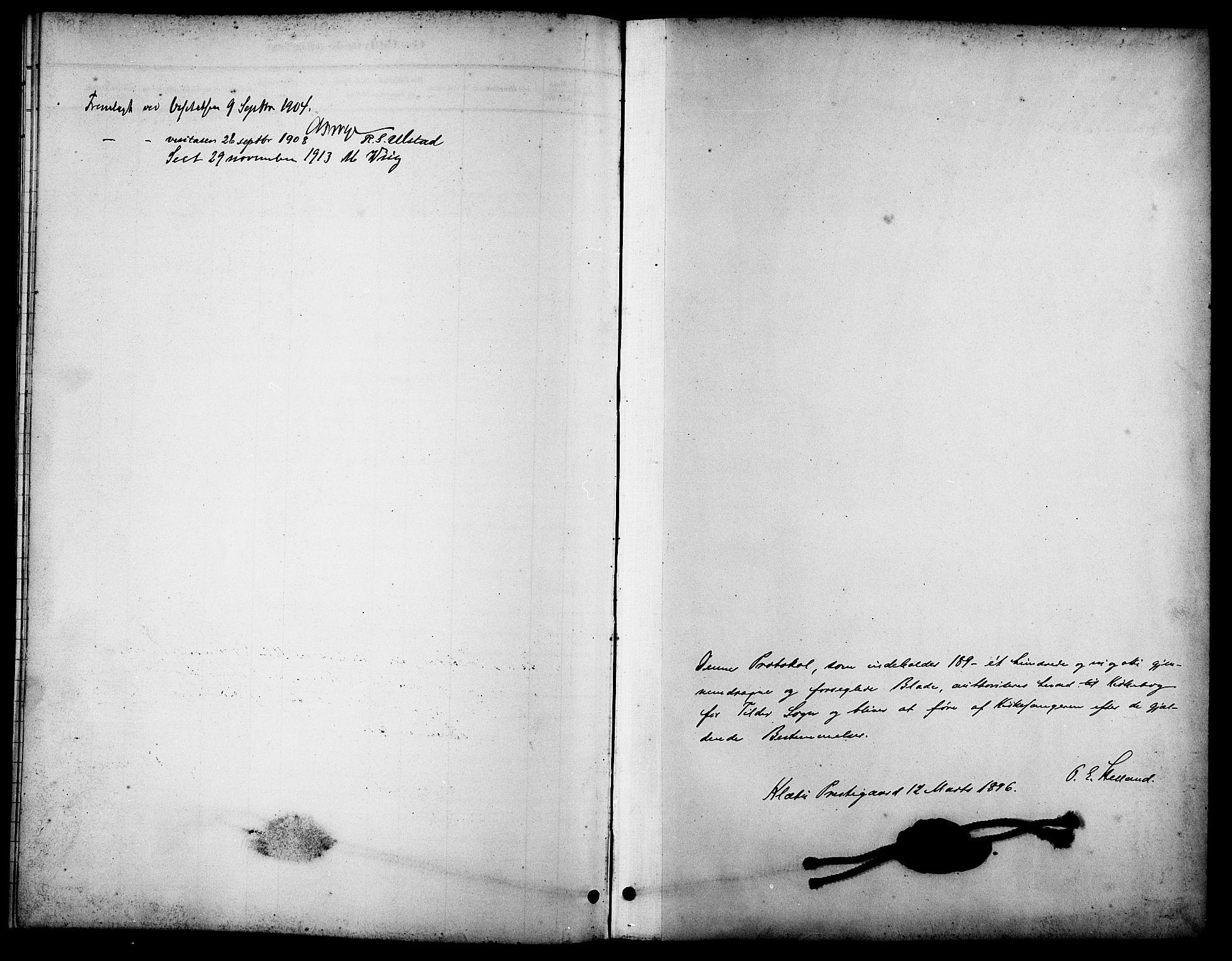 SAT, Ministerialprotokoller, klokkerbøker og fødselsregistre - Sør-Trøndelag, 621/L0460: Klokkerbok nr. 621C03, 1896-1914