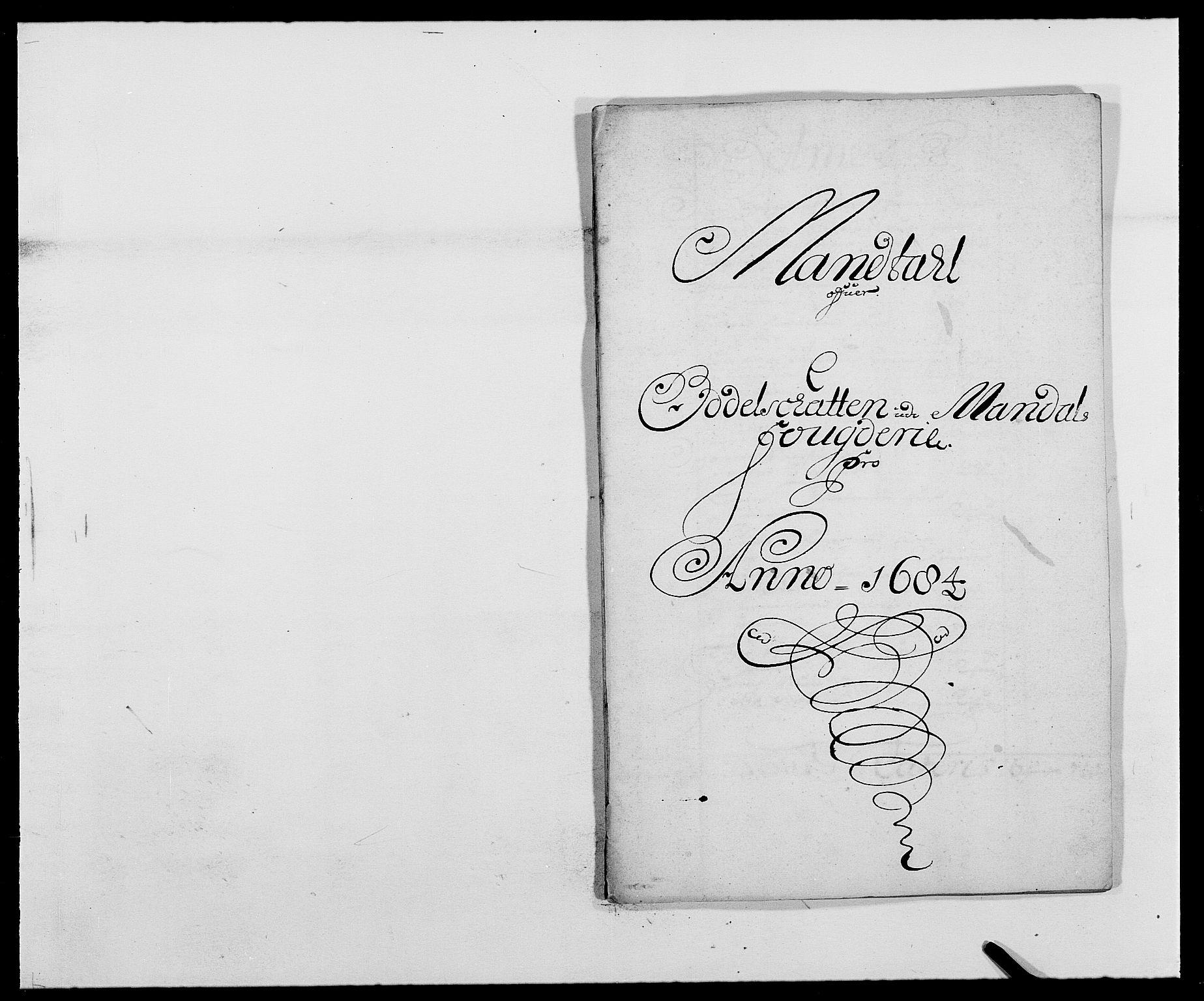 RA, Rentekammeret inntil 1814, Reviderte regnskaper, Fogderegnskap, R42/L2541: Mandal fogderi, 1681-1684, s. 263