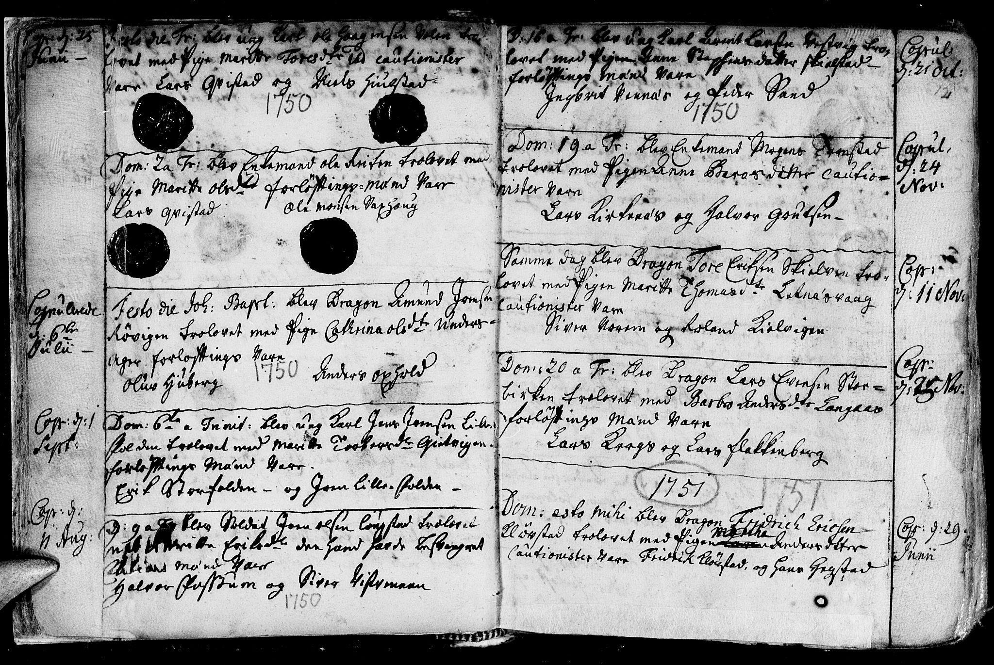 SAT, Ministerialprotokoller, klokkerbøker og fødselsregistre - Nord-Trøndelag, 730/L0272: Ministerialbok nr. 730A01, 1733-1764, s. 12