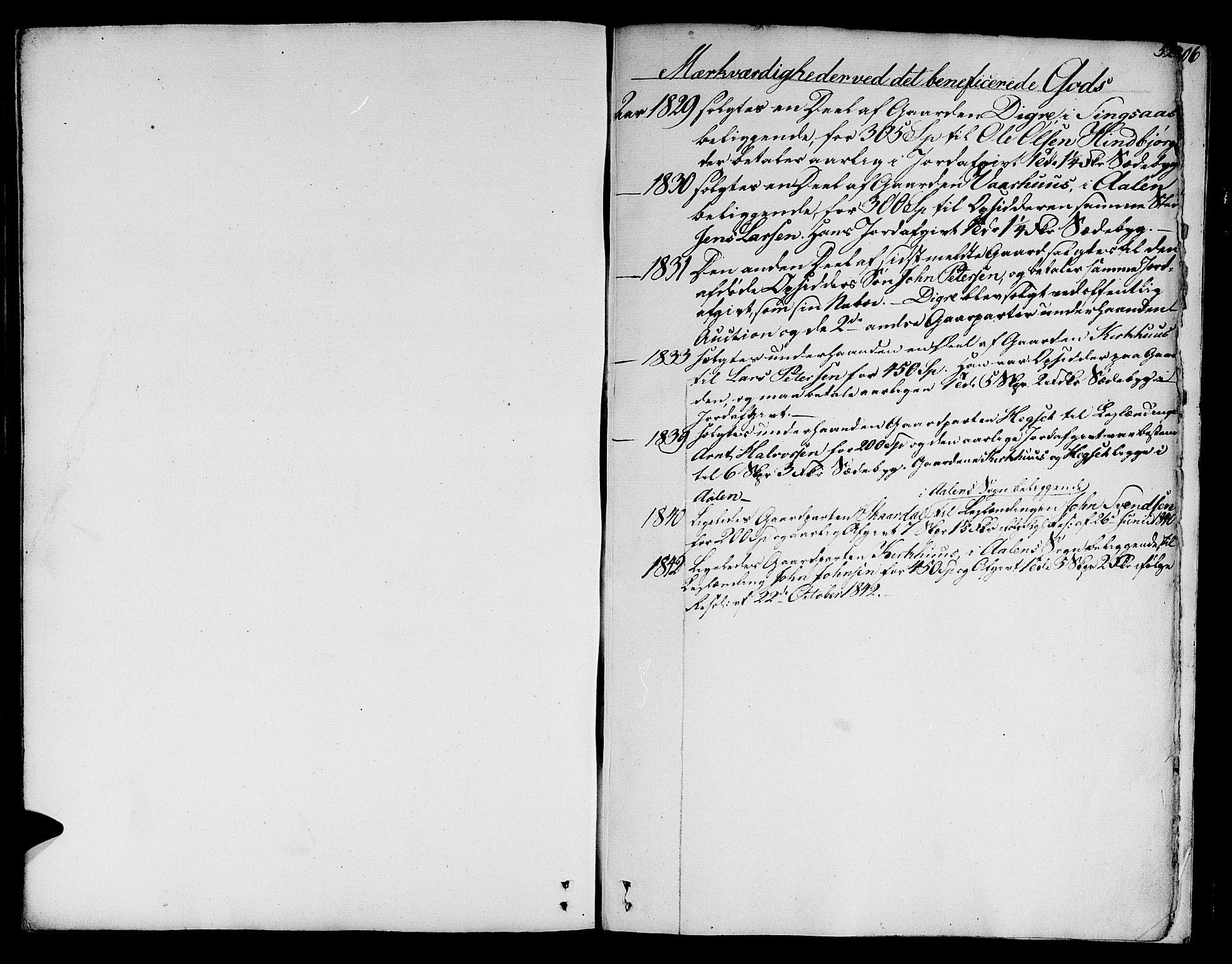 SAT, Ministerialprotokoller, klokkerbøker og fødselsregistre - Sør-Trøndelag, 685/L0960: Ministerialbok nr. 685A05 /1, 1829-1845, s. 520