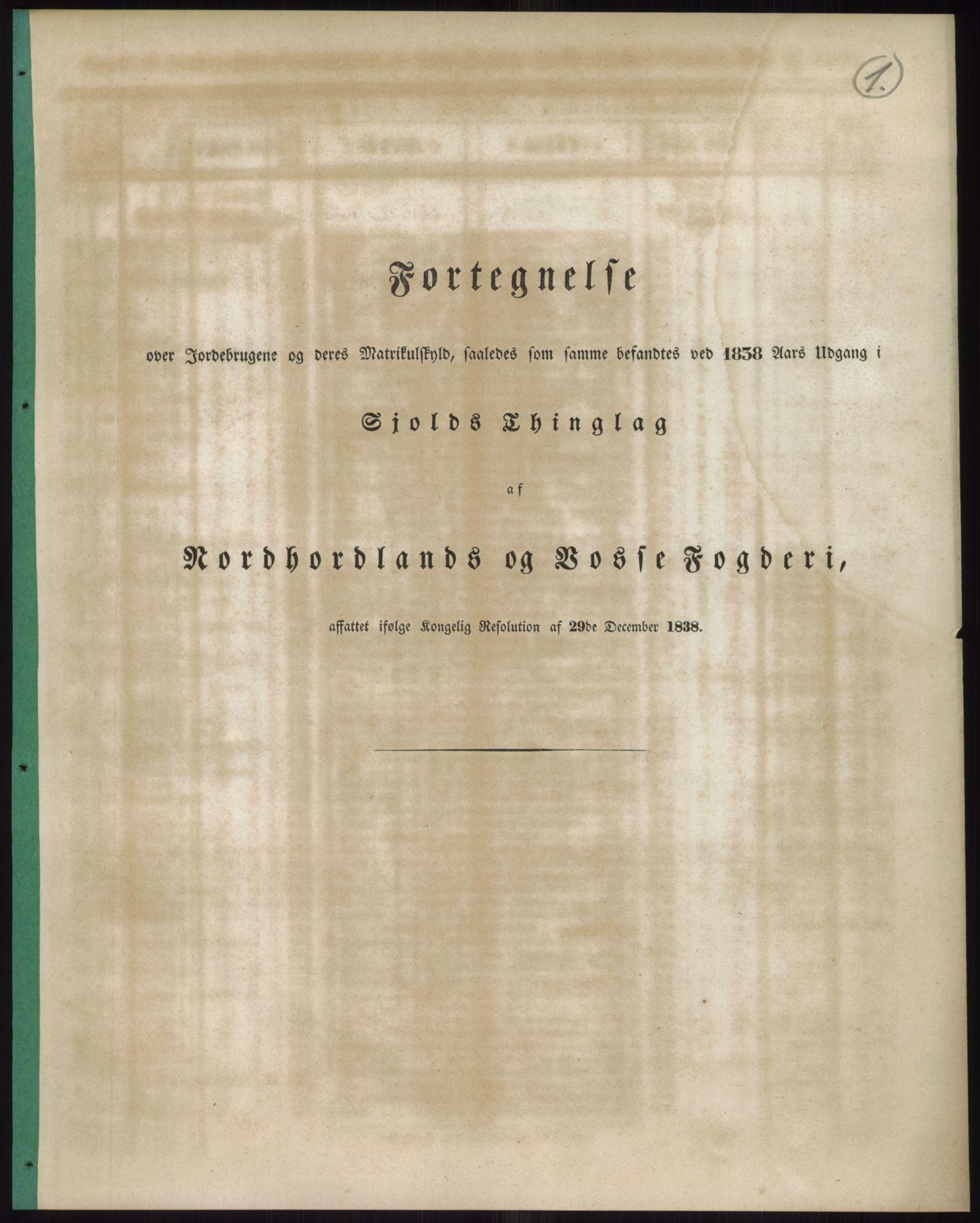 RA, 1838-matrikkelen (publikasjon)*, 1838, s. 1