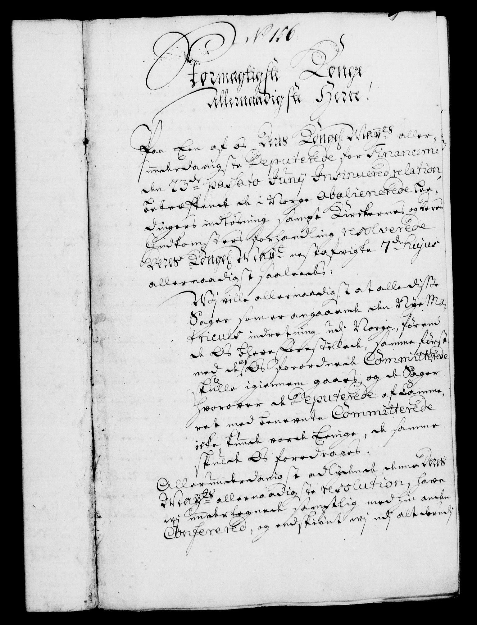 RA, Rentekammeret, Kammerkanselliet, G/Gf/Gfa/L0004: Norsk relasjons- og resolusjonsprotokoll (merket RK 52.4), 1721, s. 1185