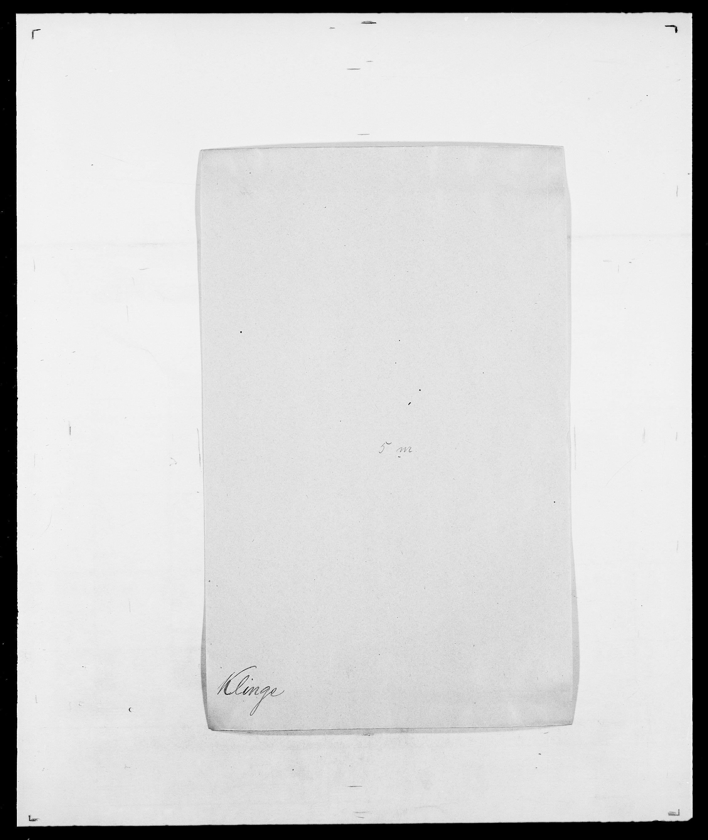 SAO, Delgobe, Charles Antoine - samling, D/Da/L0021: Klagenberg - Kristoft, s. 86