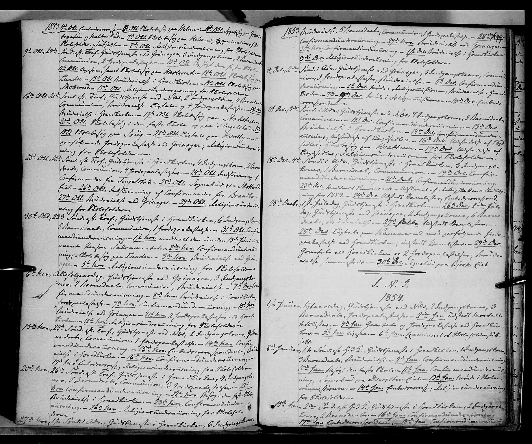 SAH, Gran prestekontor, Ministerialbok nr. 11, 1842-1856, s. 1378-1379