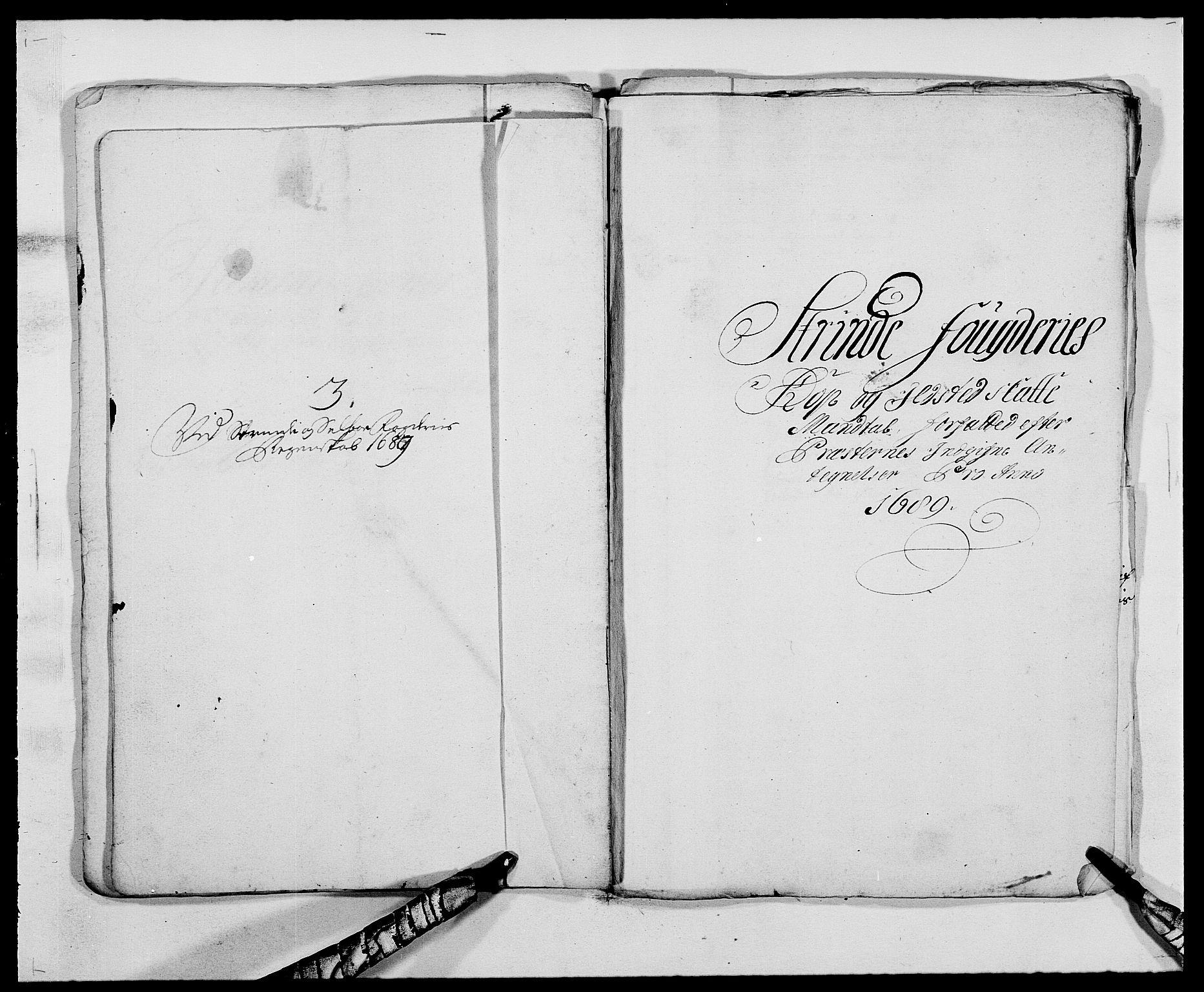 RA, Rentekammeret inntil 1814, Reviderte regnskaper, Fogderegnskap, R61/L4102: Fogderegnskap Strinda og Selbu, 1689-1690, s. 25