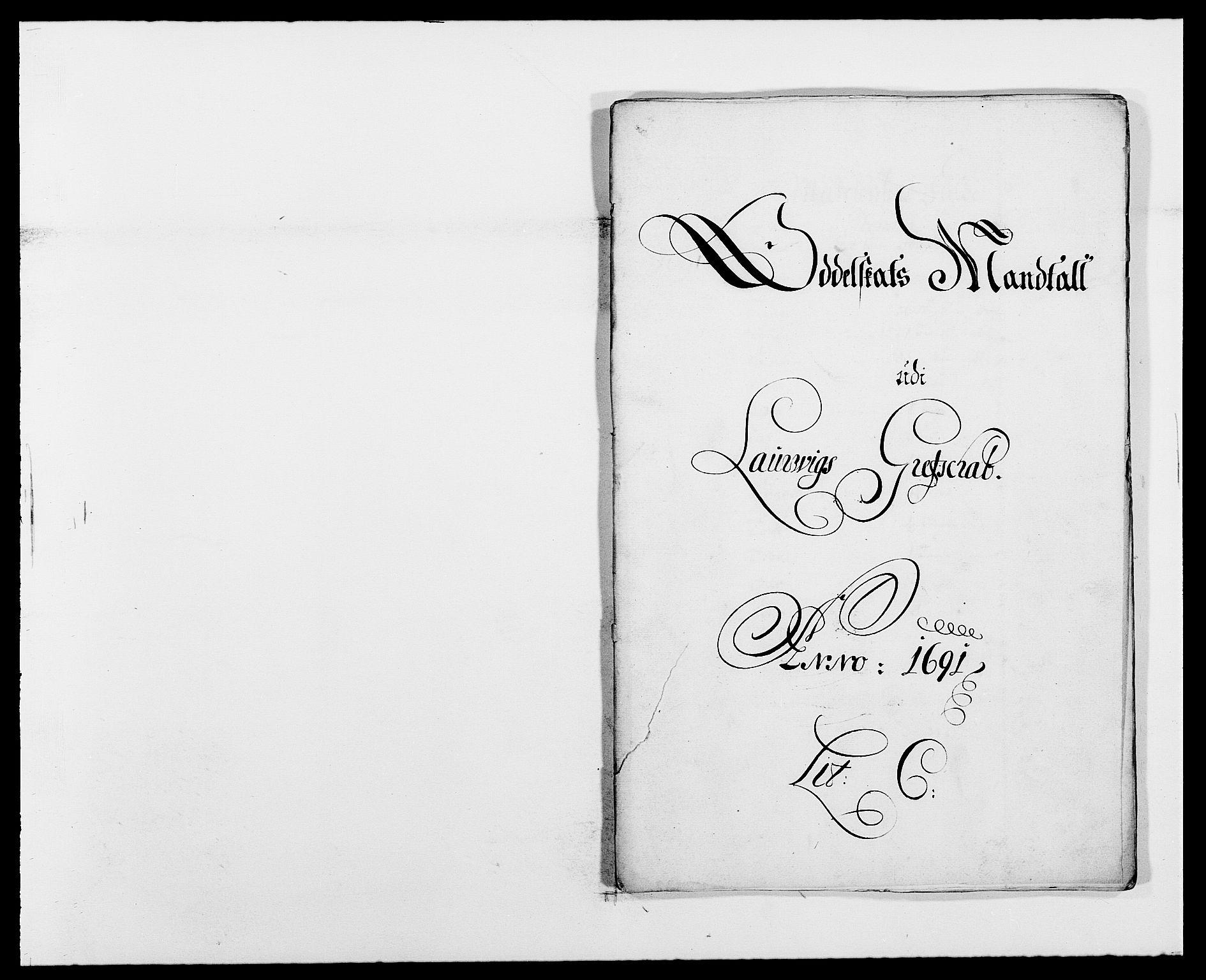 RA, Rentekammeret inntil 1814, Reviderte regnskaper, Fogderegnskap, R33/L1972: Fogderegnskap Larvik grevskap, 1690-1691, s. 245