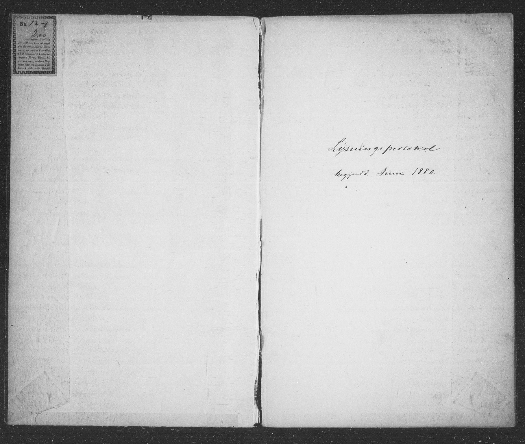 SATØ, Tromsøysund sokneprestkontor, H/Hc/L0056: Lysningsprotokoll nr. 56, 1880-1887