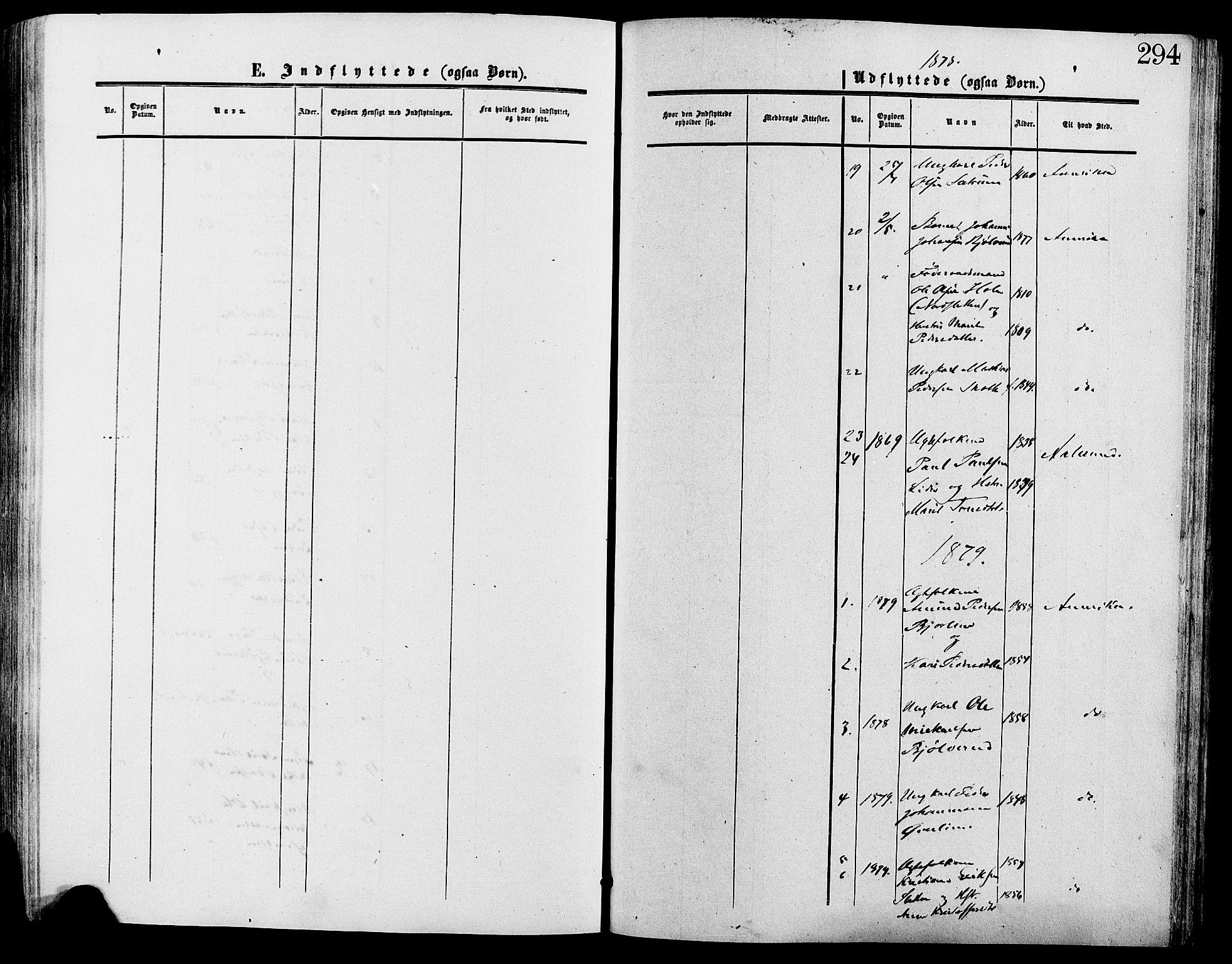 SAH, Lesja prestekontor, Ministerialbok nr. 9, 1854-1889, s. 294