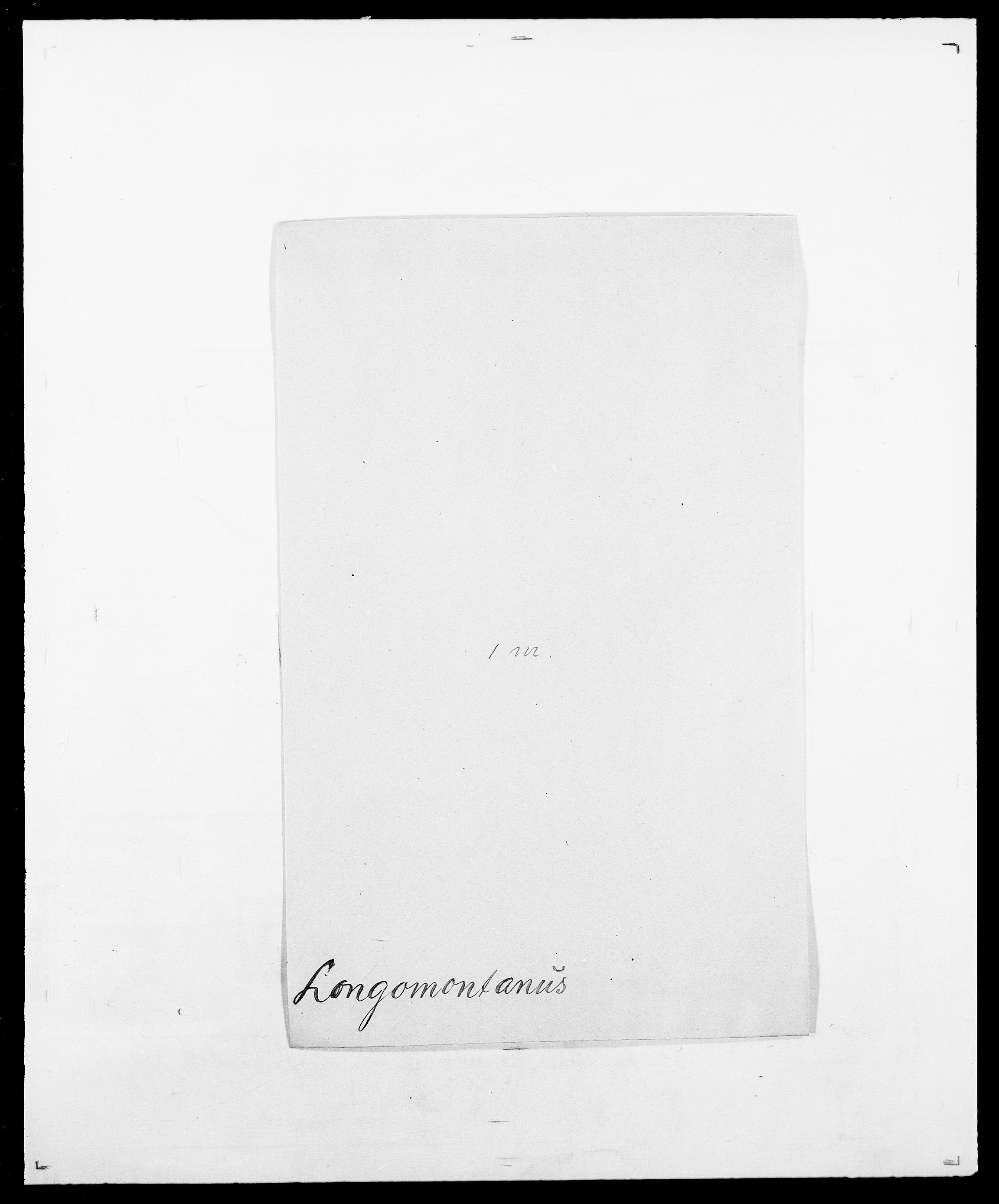 SAO, Delgobe, Charles Antoine - samling, D/Da/L0024: Lobech - Lærum, s. 107