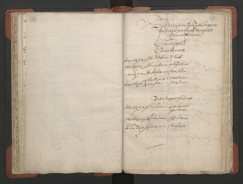 RA, Sogneprestenes manntall 1664-1666, nr. 7: Hadeland prosti, 1664-1666, s. 129-130