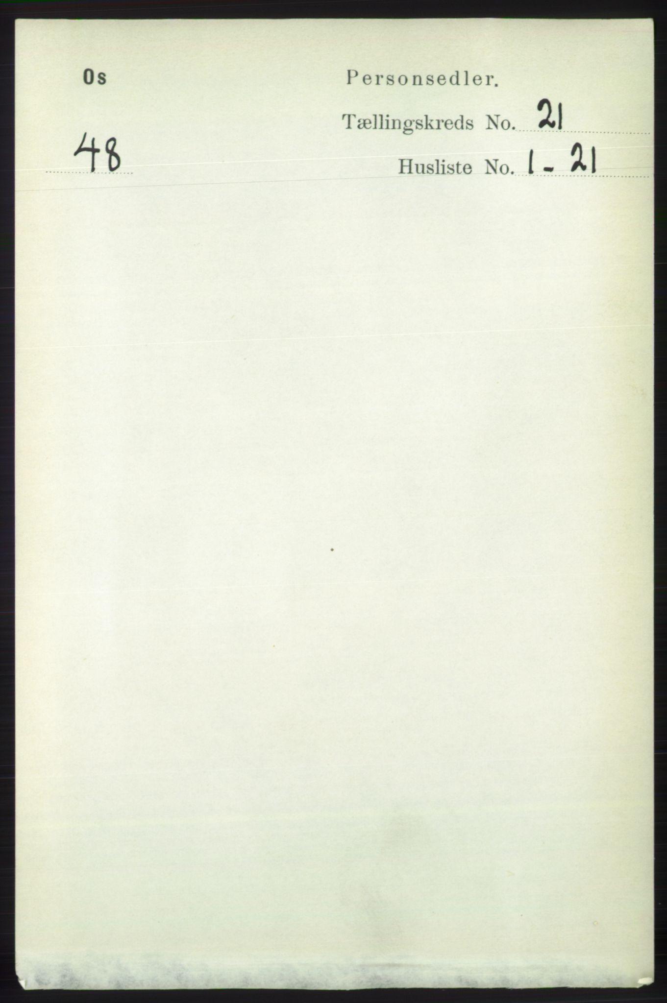 RA, Folketelling 1891 for 1243 Os herred, 1891, s. 4839