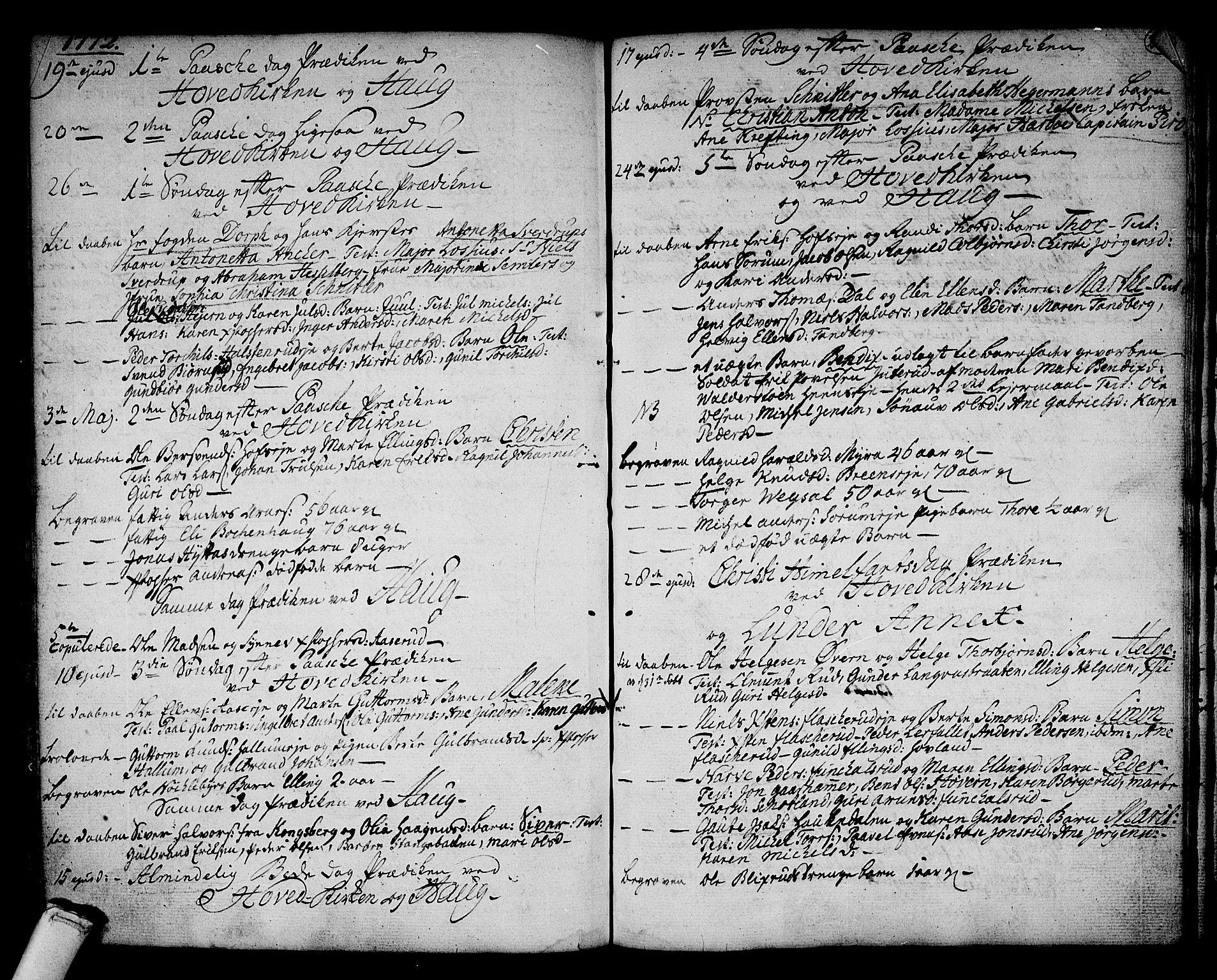 SAKO, Norderhov kirkebøker, F/Fa/L0004: Ministerialbok nr. 4, 1758-1774, s. 240