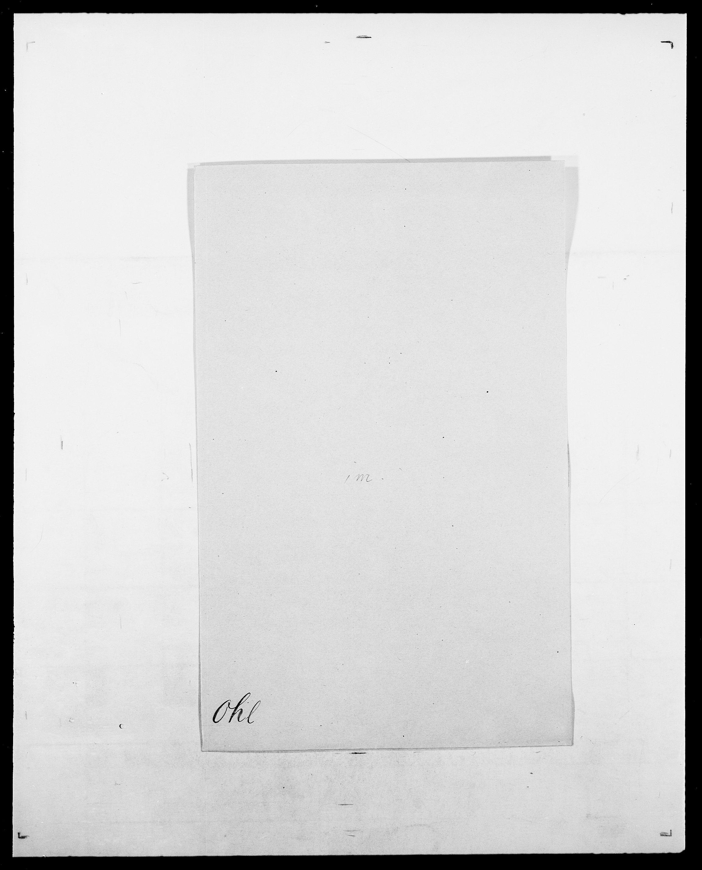 SAO, Delgobe, Charles Antoine - samling, D/Da/L0029: Obel - Oxholm, s. 61