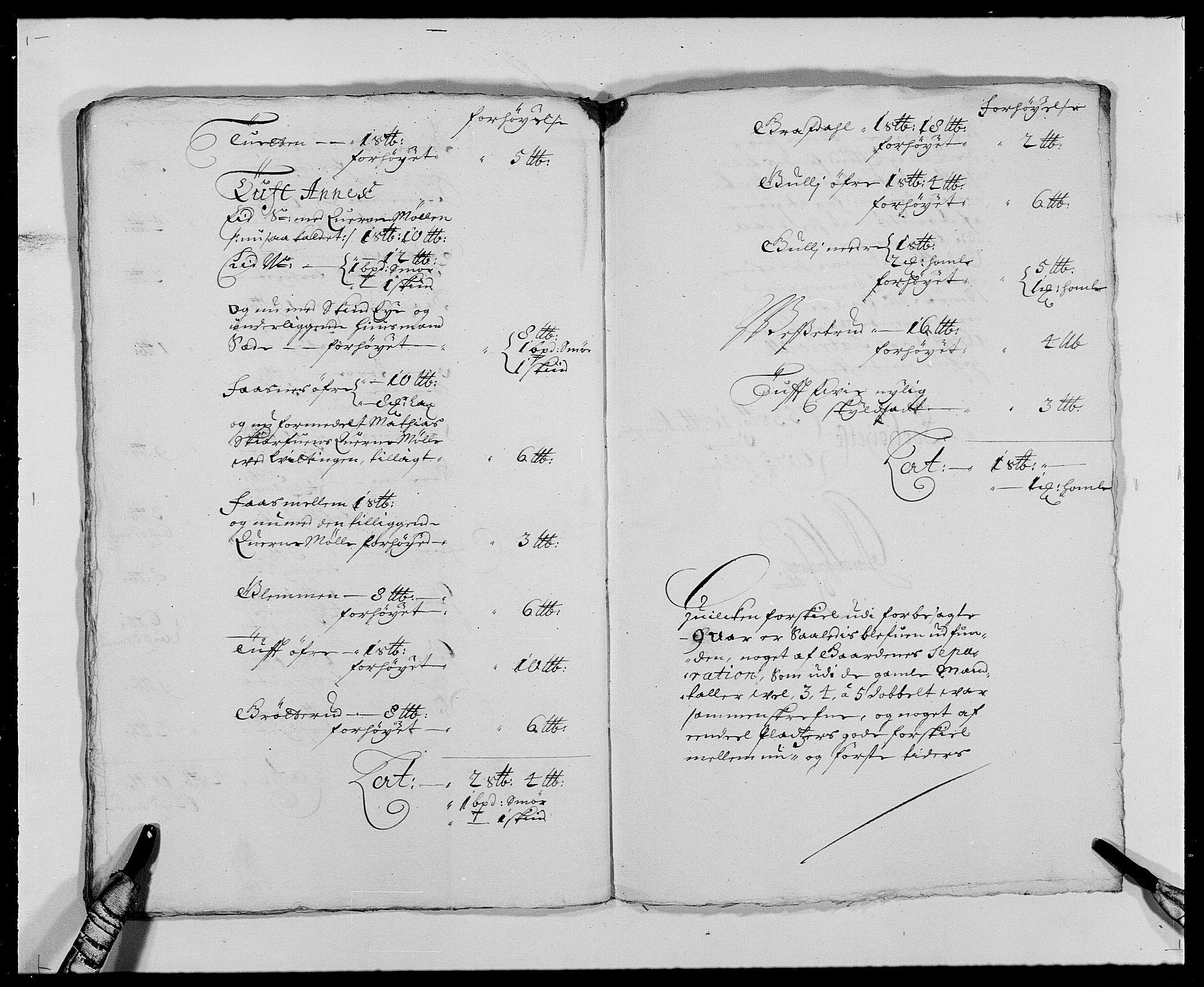 RA, Rentekammeret inntil 1814, Reviderte regnskaper, Fogderegnskap, R24/L1573: Fogderegnskap Numedal og Sandsvær, 1687-1691, s. 219