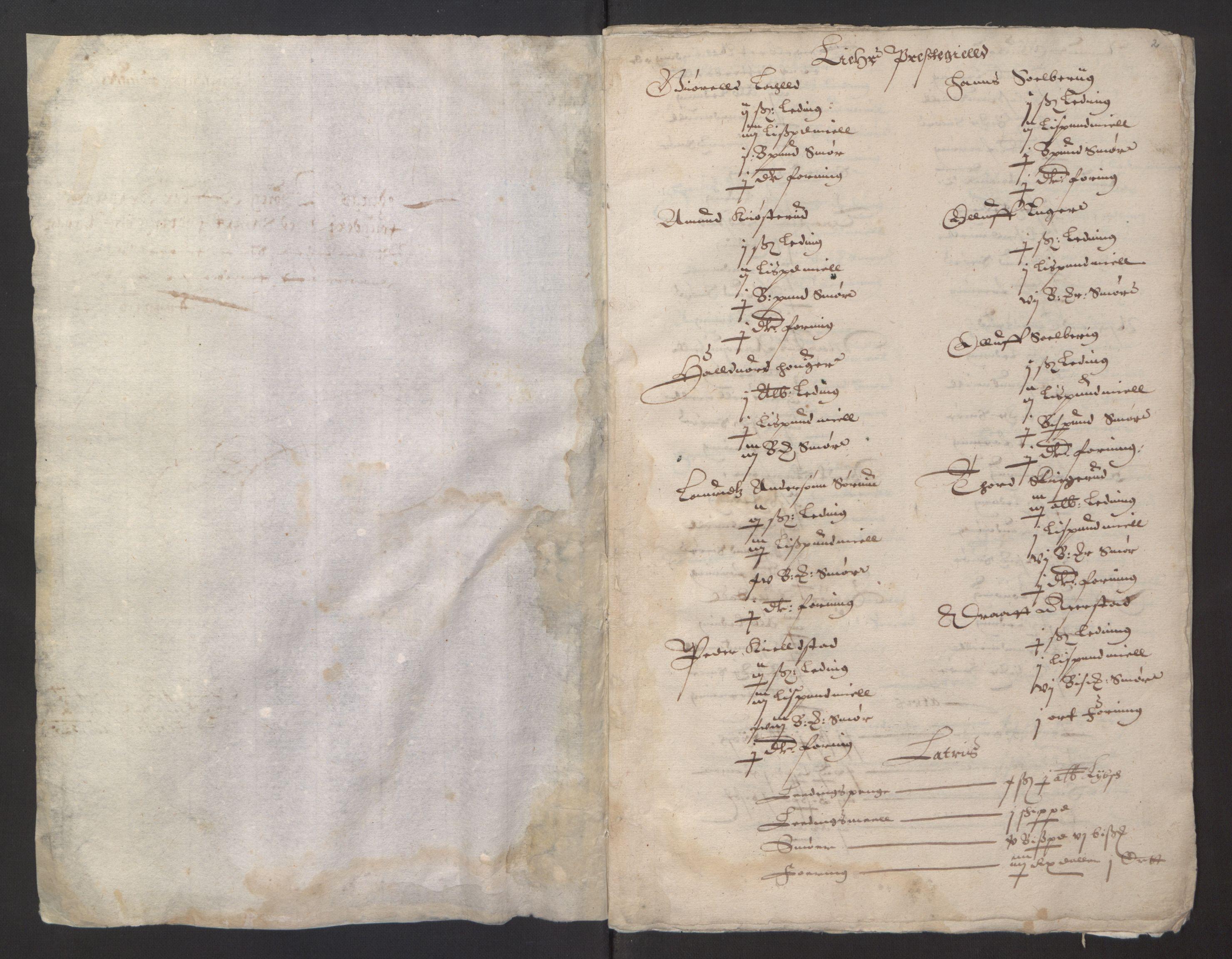 RA, Stattholderembetet 1572-1771, Ek/L0001: Jordebøker før 1624 og til utligning av garnisonsskatt 1624-1626:, 1624-1625, s. 254