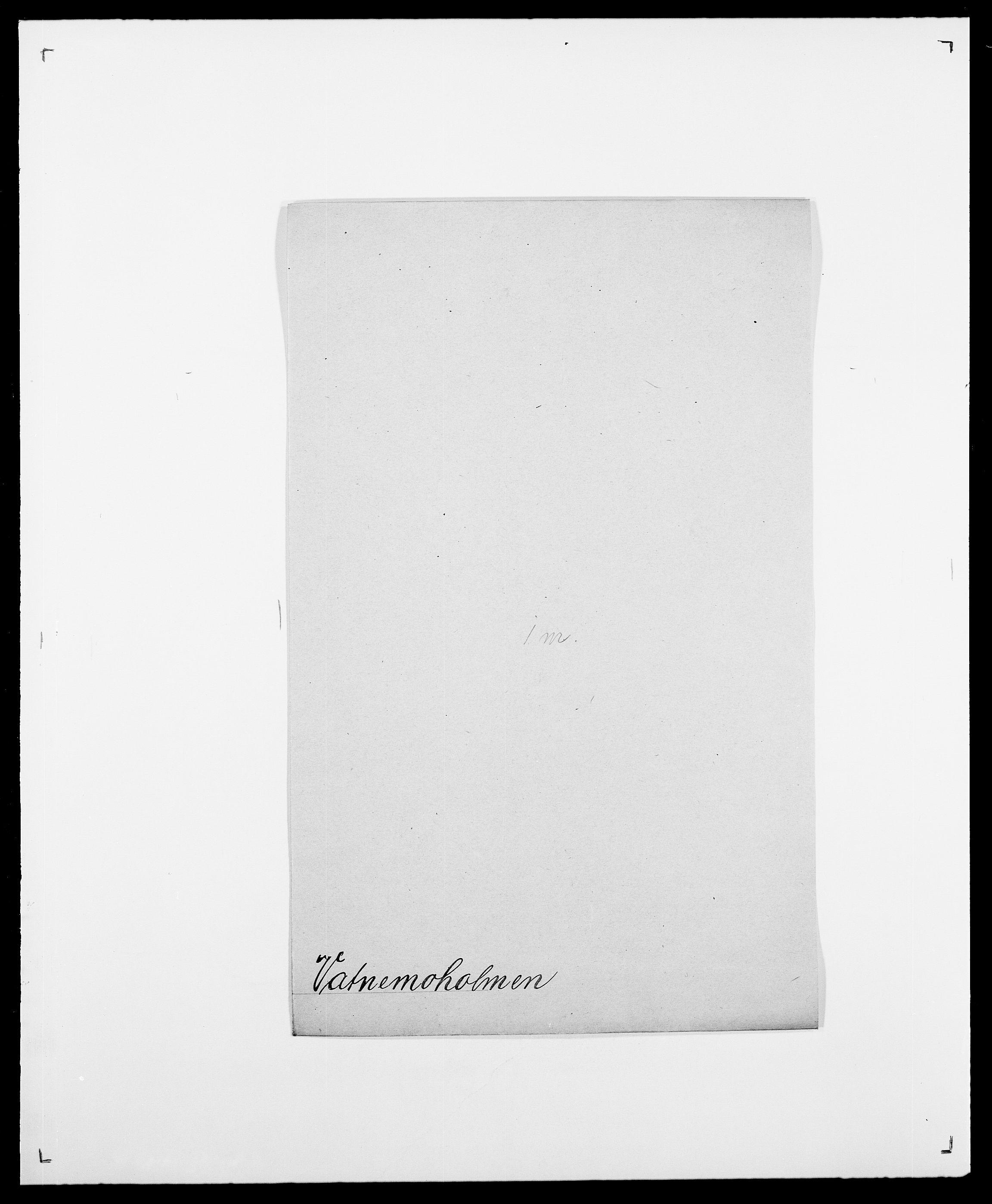SAO, Delgobe, Charles Antoine - samling, D/Da/L0040: Usgaard - Velund, s. 379