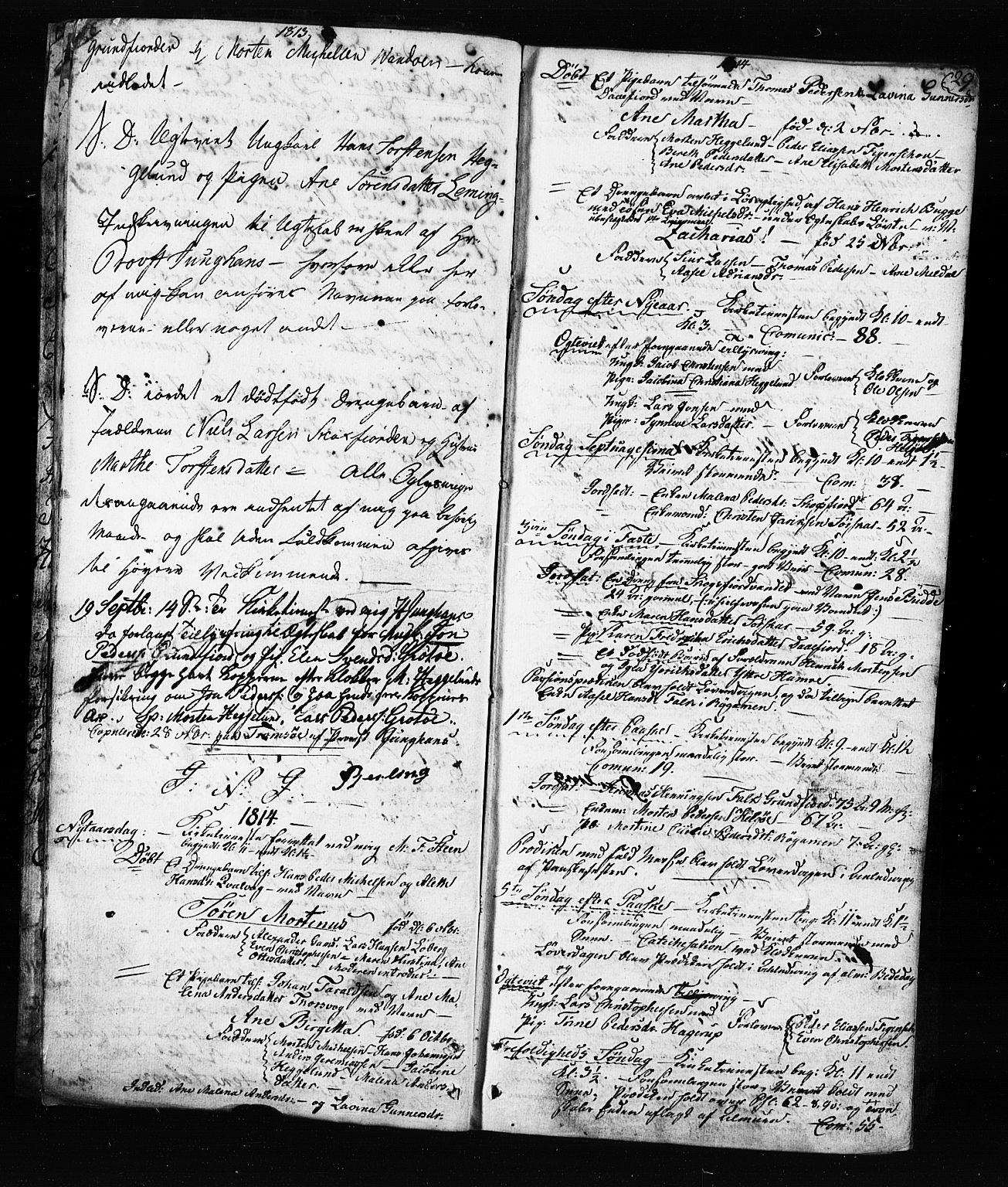 SATØ, Karlsøy sokneprestembete, Ministerialbok nr. 8, 1805-1838, s. 28-29