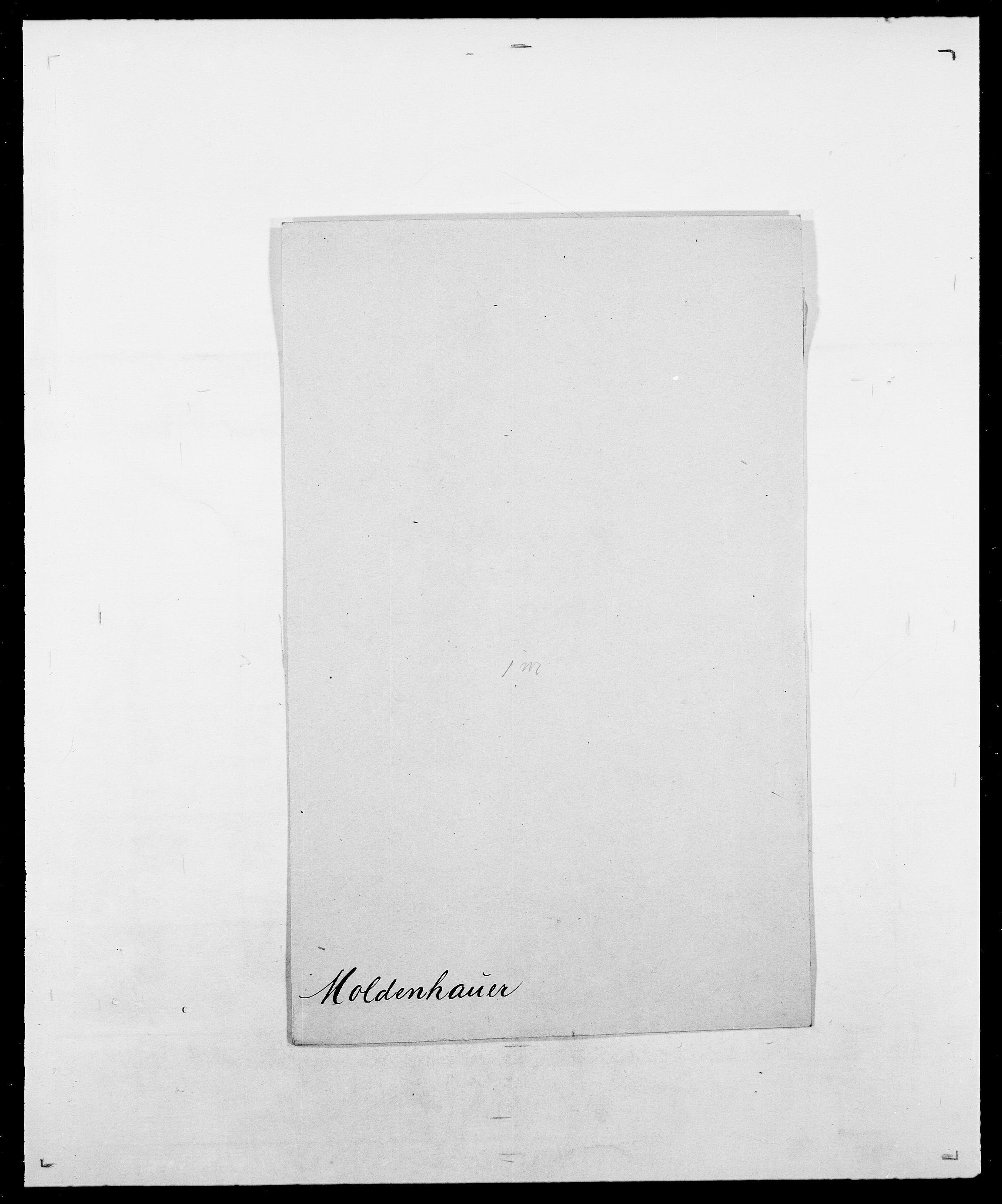 SAO, Delgobe, Charles Antoine - samling, D/Da/L0026: Mechelby - Montoppidan, s. 745