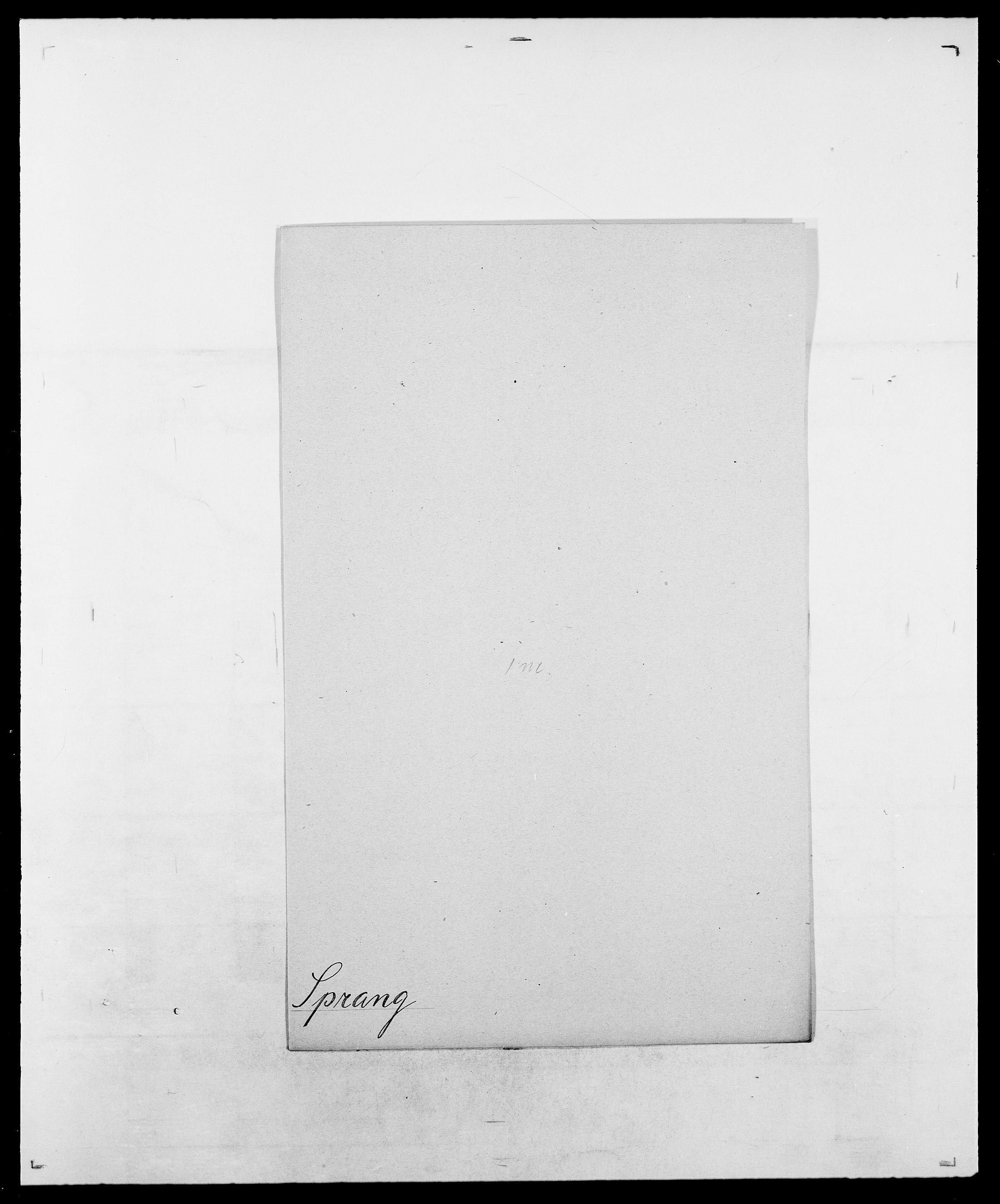 SAO, Delgobe, Charles Antoine - samling, D/Da/L0036: Skaanør - Staverskov, s. 586