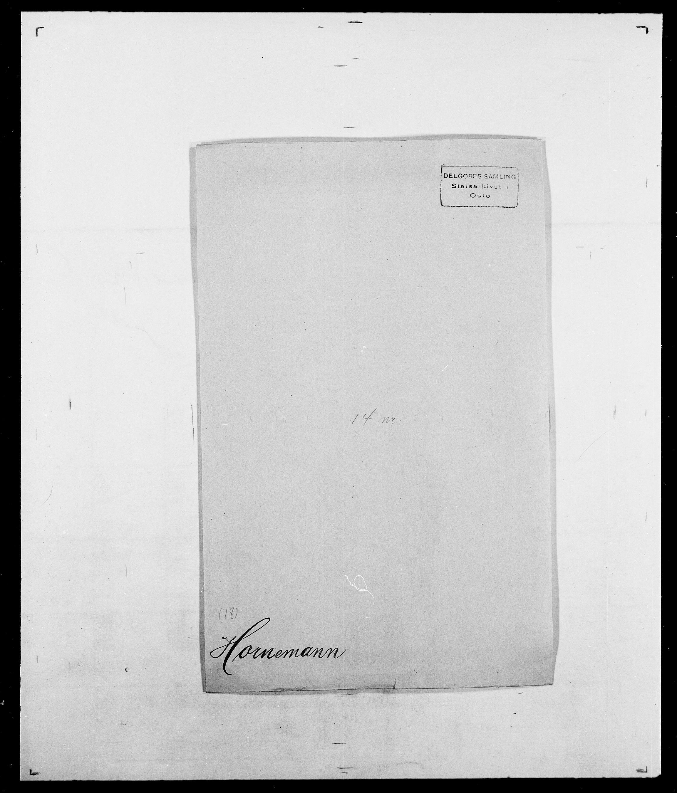 SAO, Delgobe, Charles Antoine - samling, D/Da/L0018: Hoch - Howert, s. 948