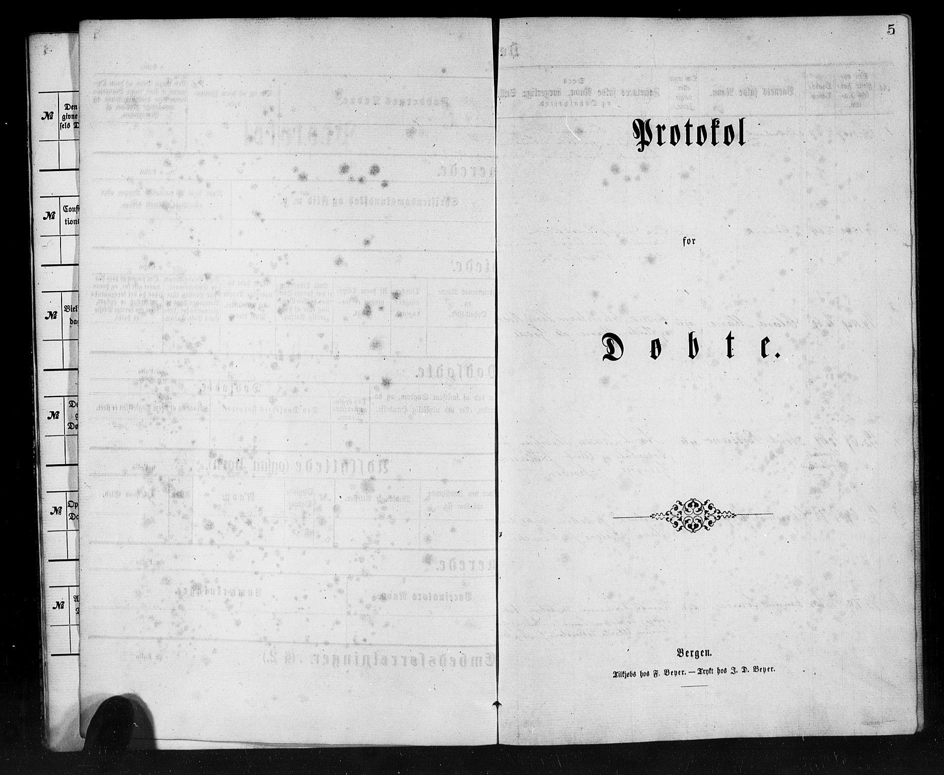 SAB, Den Norske Sjømannsmisjon i utlandet*, Ministerialbok nr. A 1, 1865-1887, s. 5