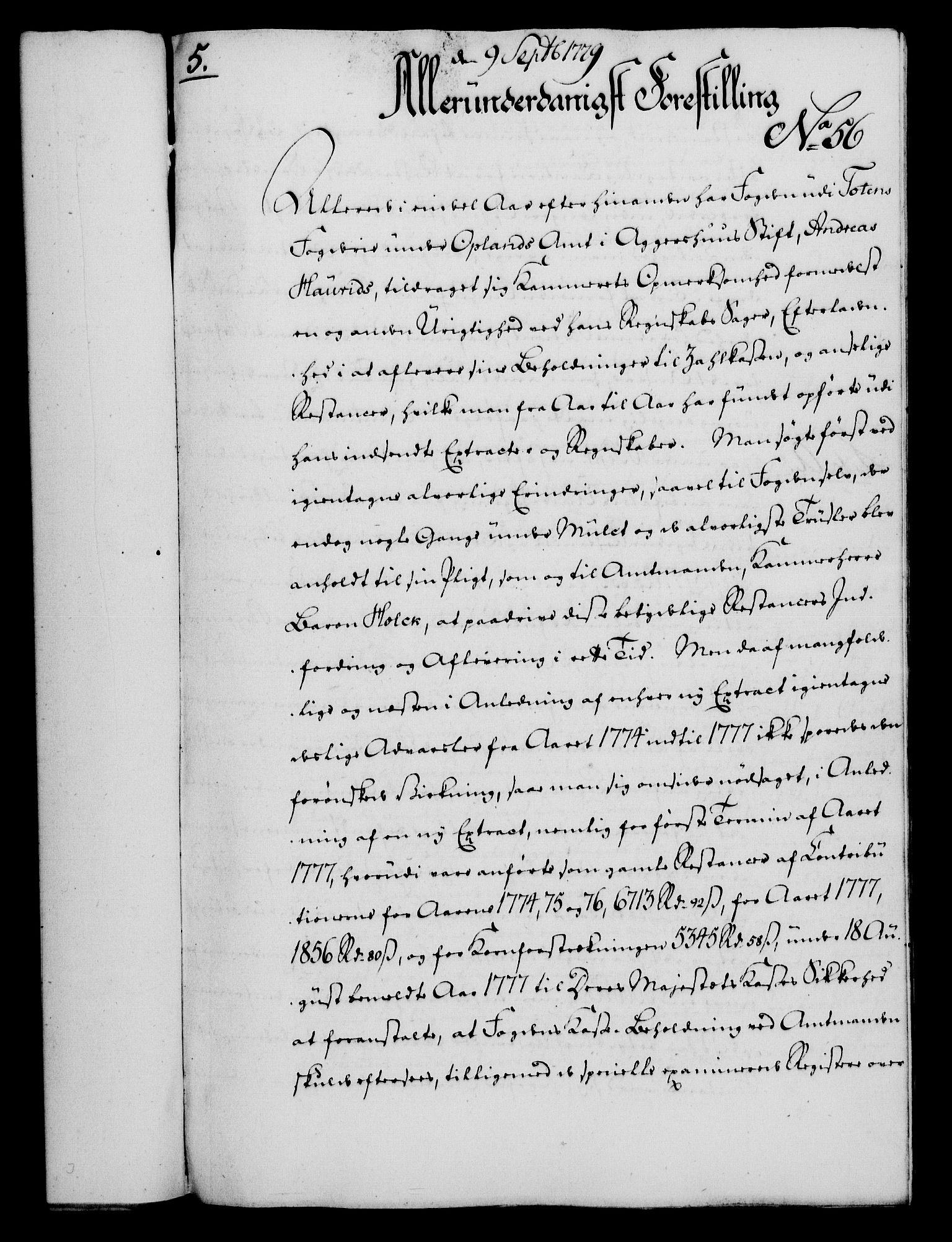 RA, Rentekammeret, Kammerkanselliet, G/Gf/Gfa/L0061: Norsk relasjons- og resolusjonsprotokoll (merket RK 52.61), 1779, s. 405