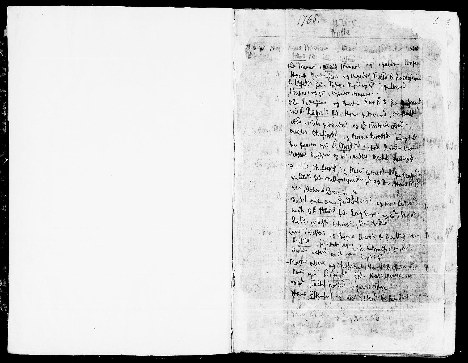 SAH, Land prestekontor, Ministerialbok nr. 5, 1765-1784, s. 0-1