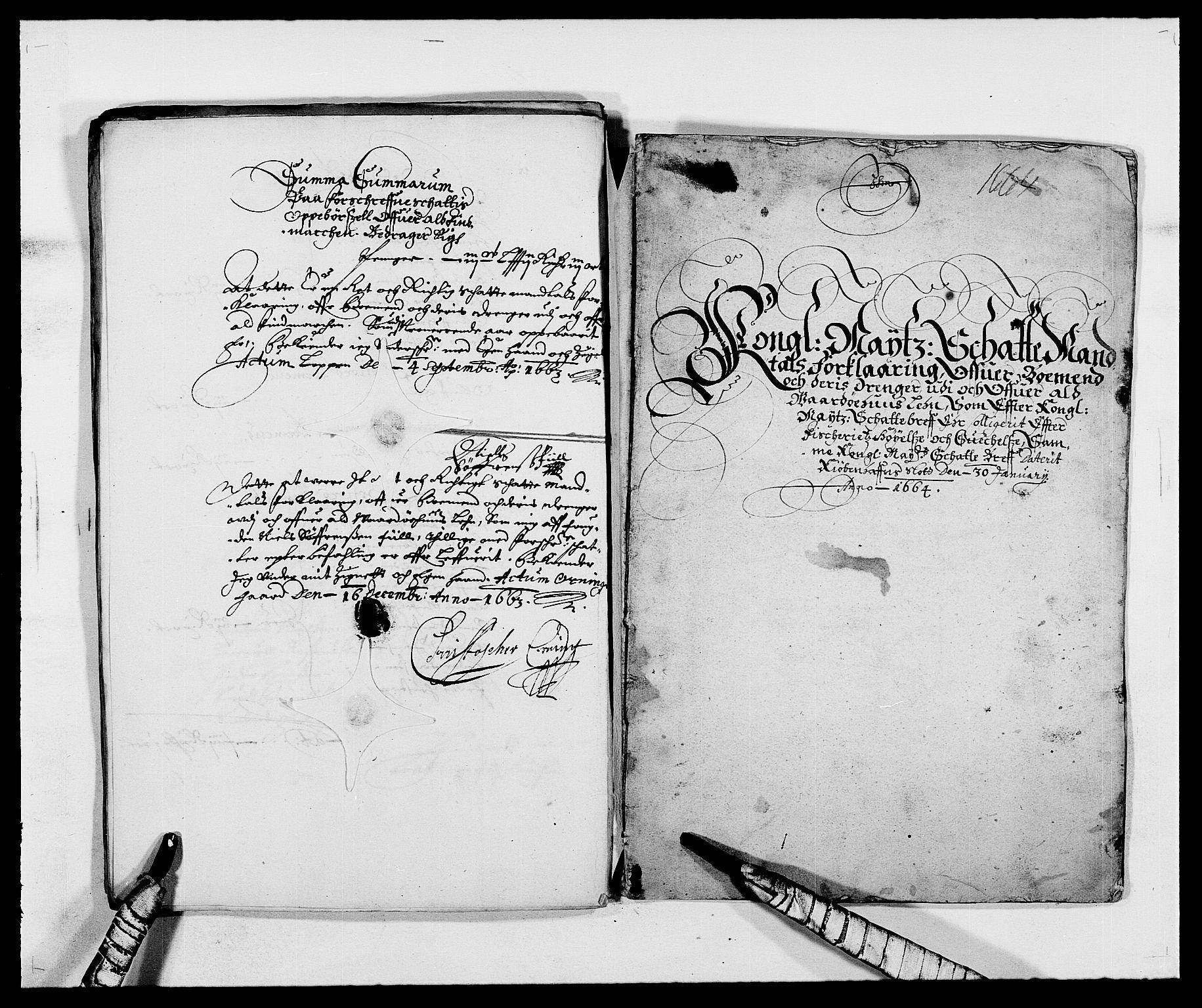 RA, Rentekammeret inntil 1814, Reviderte regnskaper, Fogderegnskap, R69/L4849: Fogderegnskap Finnmark/Vardøhus, 1661-1679, s. 49