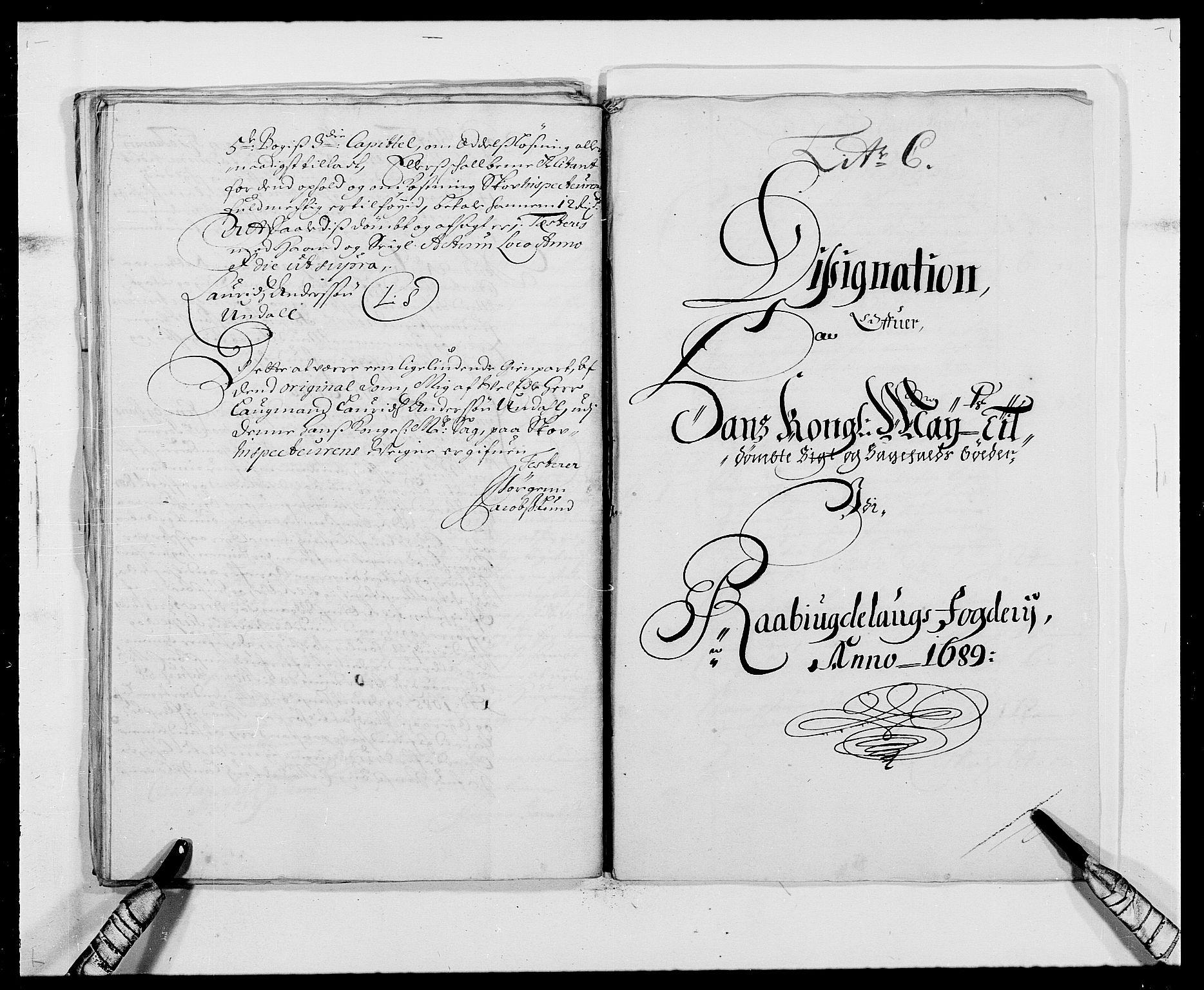 RA, Rentekammeret inntil 1814, Reviderte regnskaper, Fogderegnskap, R40/L2442: Fogderegnskap Råbyggelag, 1689-1690, s. 46