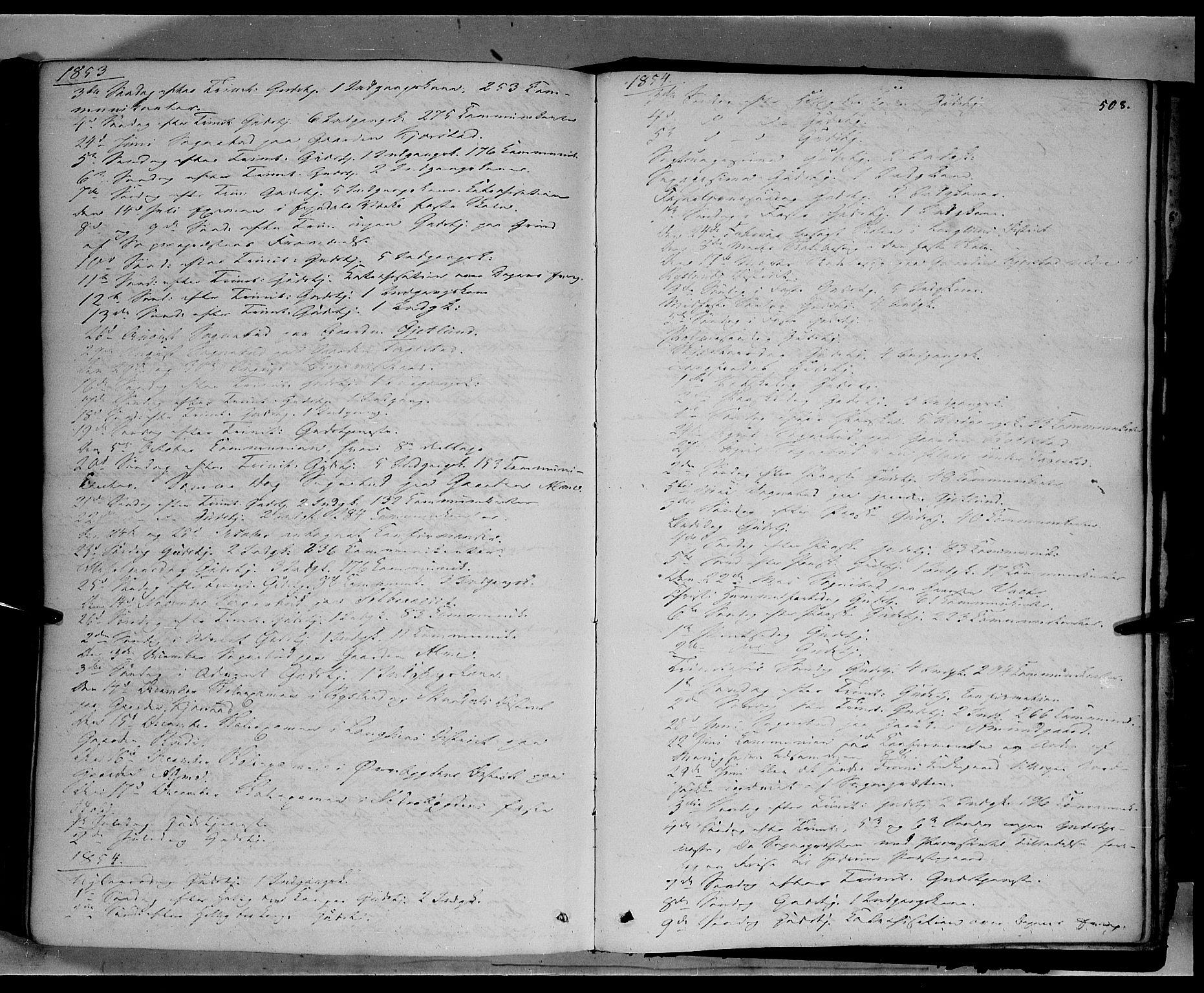 SAH, Sør-Fron prestekontor, H/Ha/Haa/L0001: Ministerialbok nr. 1, 1849-1863, s. 508