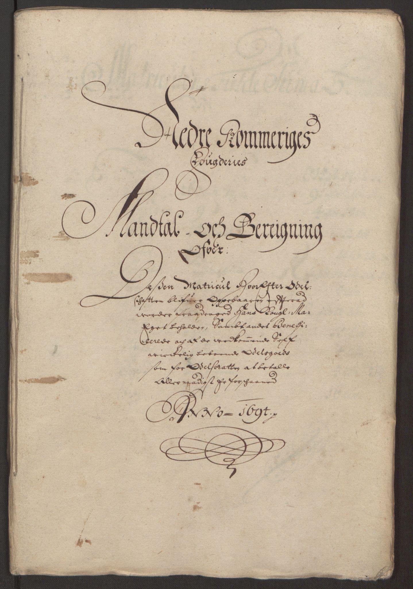 RA, Rentekammeret inntil 1814, Reviderte regnskaper, Fogderegnskap, R11/L0579: Fogderegnskap Nedre Romerike, 1694-1695, s. 120