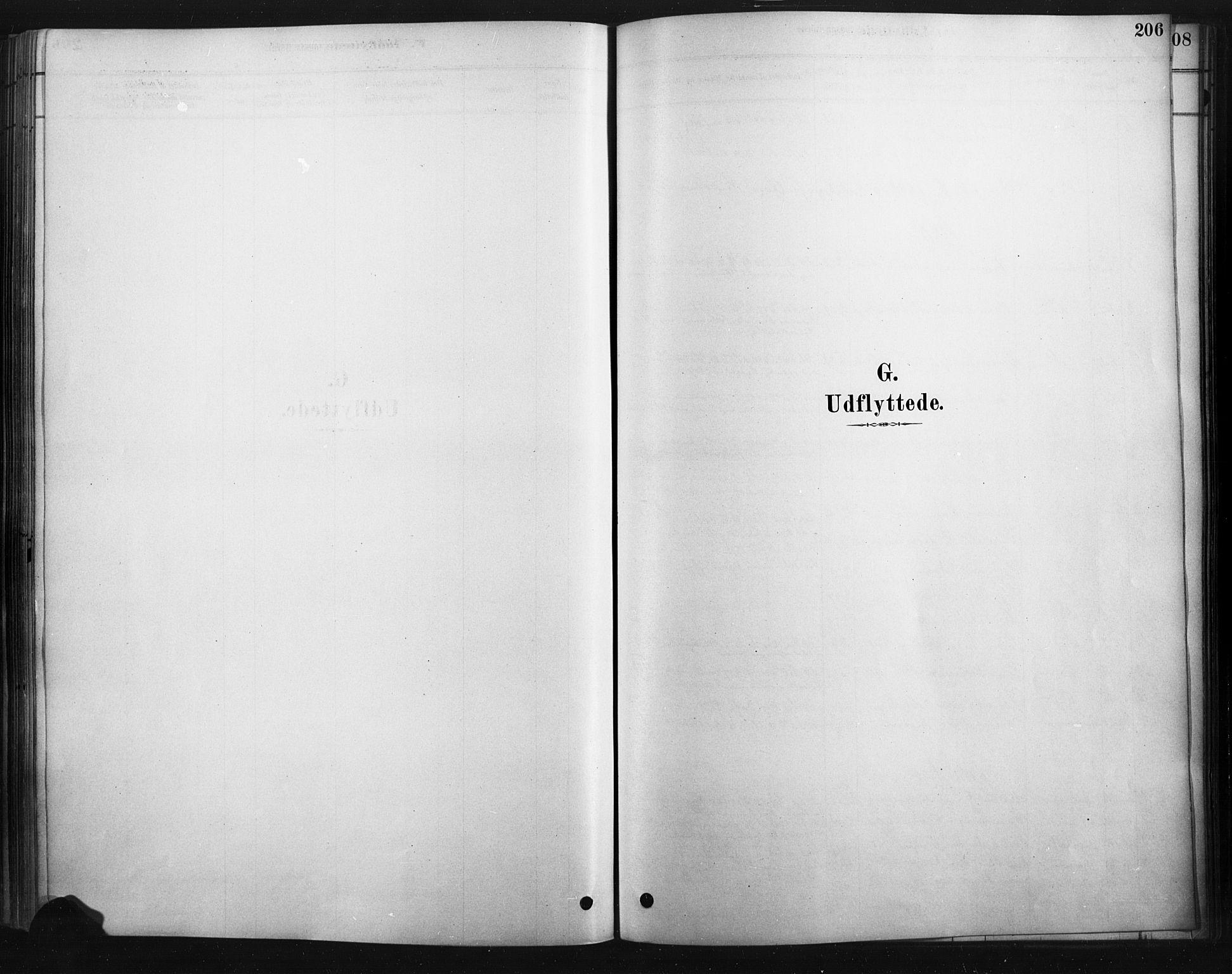 SAH, Rendalen prestekontor, H/Ha/Haa/L0010: Ministerialbok nr. 10, 1878-1901, s. 206