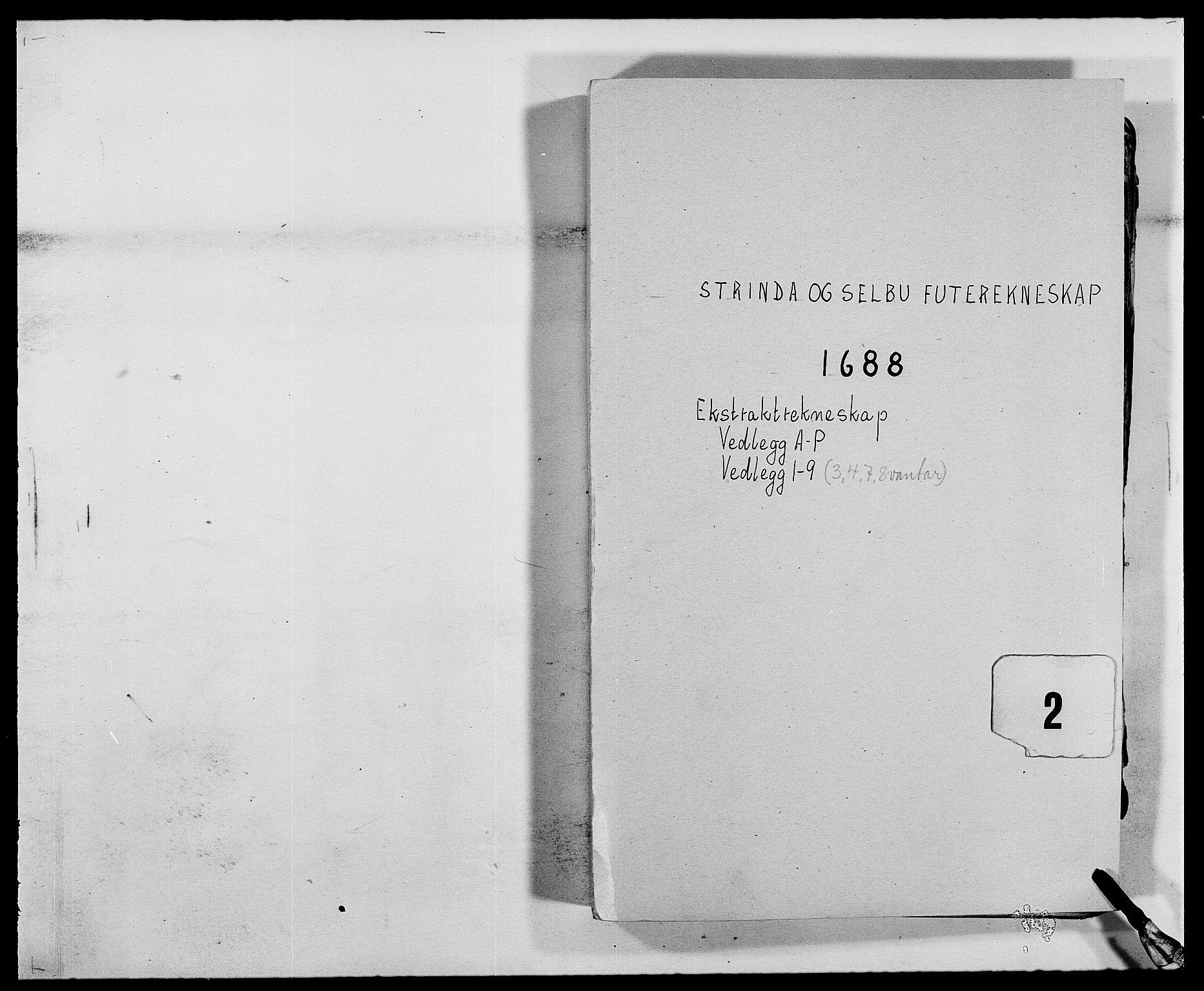 RA, Rentekammeret inntil 1814, Reviderte regnskaper, Fogderegnskap, R61/L4101: Fogderegnskap Strinda og Selbu, 1687-1688, s. 157