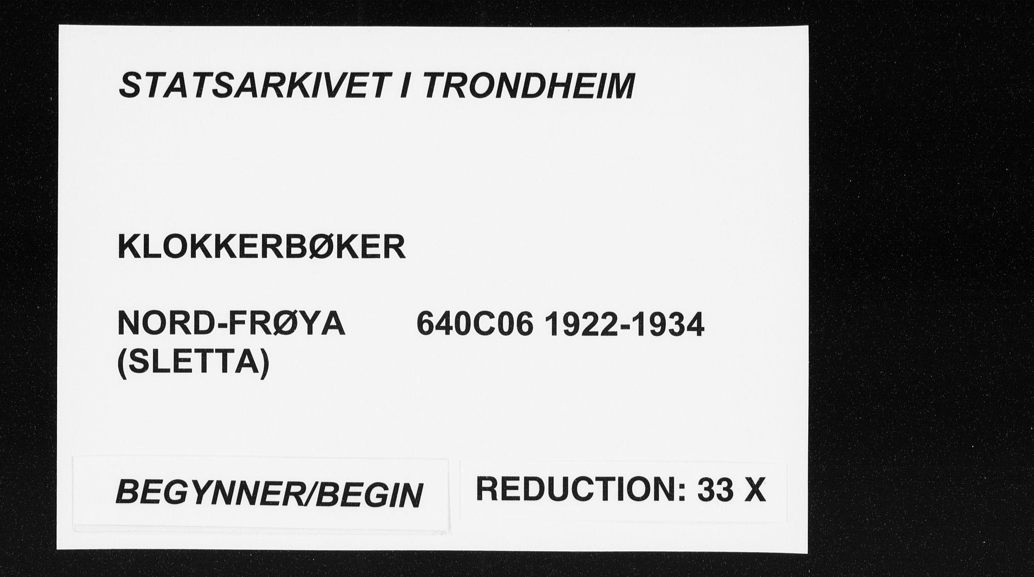 SAT, Ministerialprotokoller, klokkerbøker og fødselsregistre - Sør-Trøndelag, 640/L0589: Klokkerbok nr. 640C06, 1922-1934