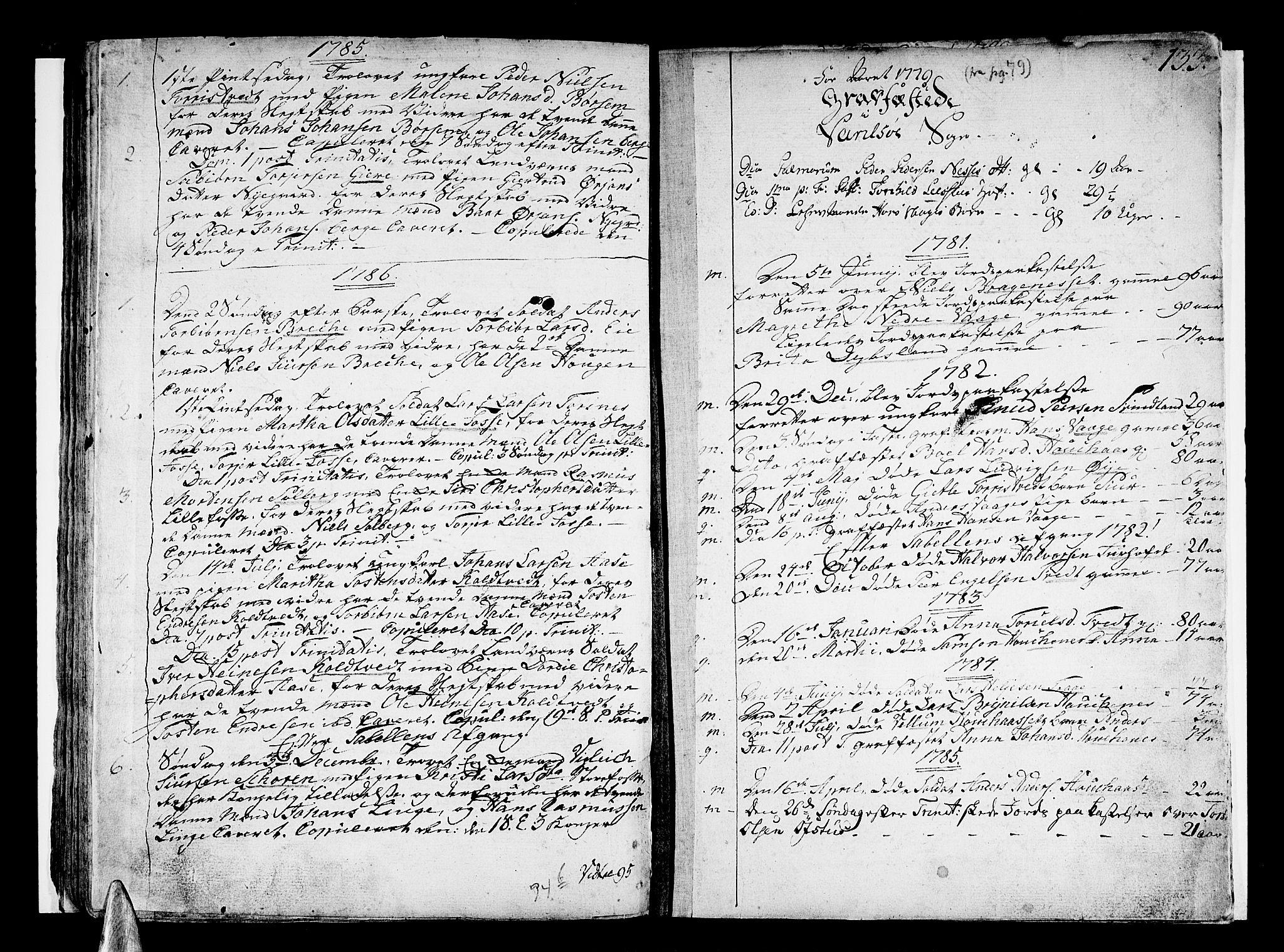 SAB, Strandebarm sokneprestembete, H/Haa: Ministerialbok nr. A 3 /1, 1750-1787, s. 133