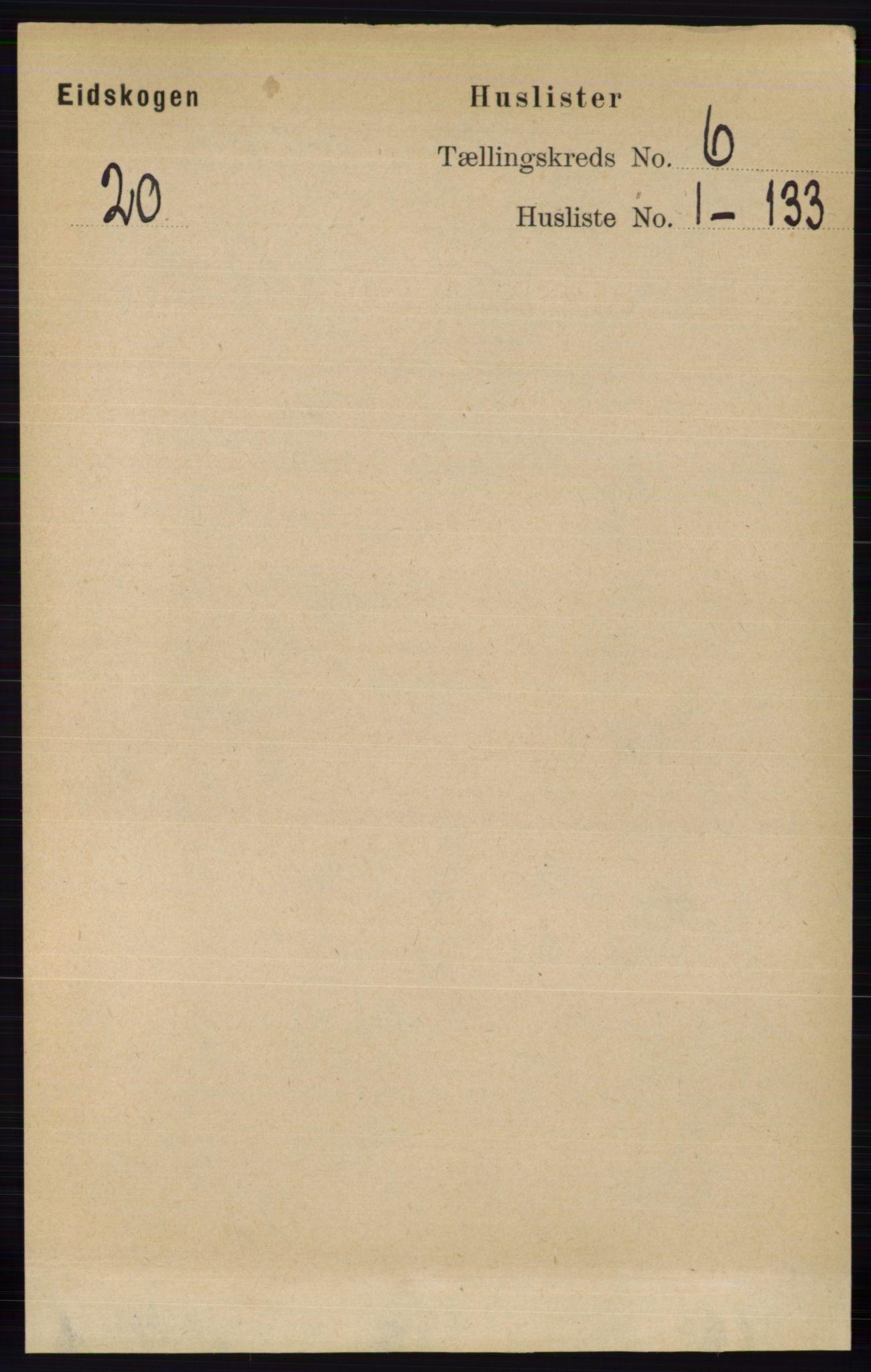 RA, Folketelling 1891 for 0420 Eidskog herred, 1891, s. 2711