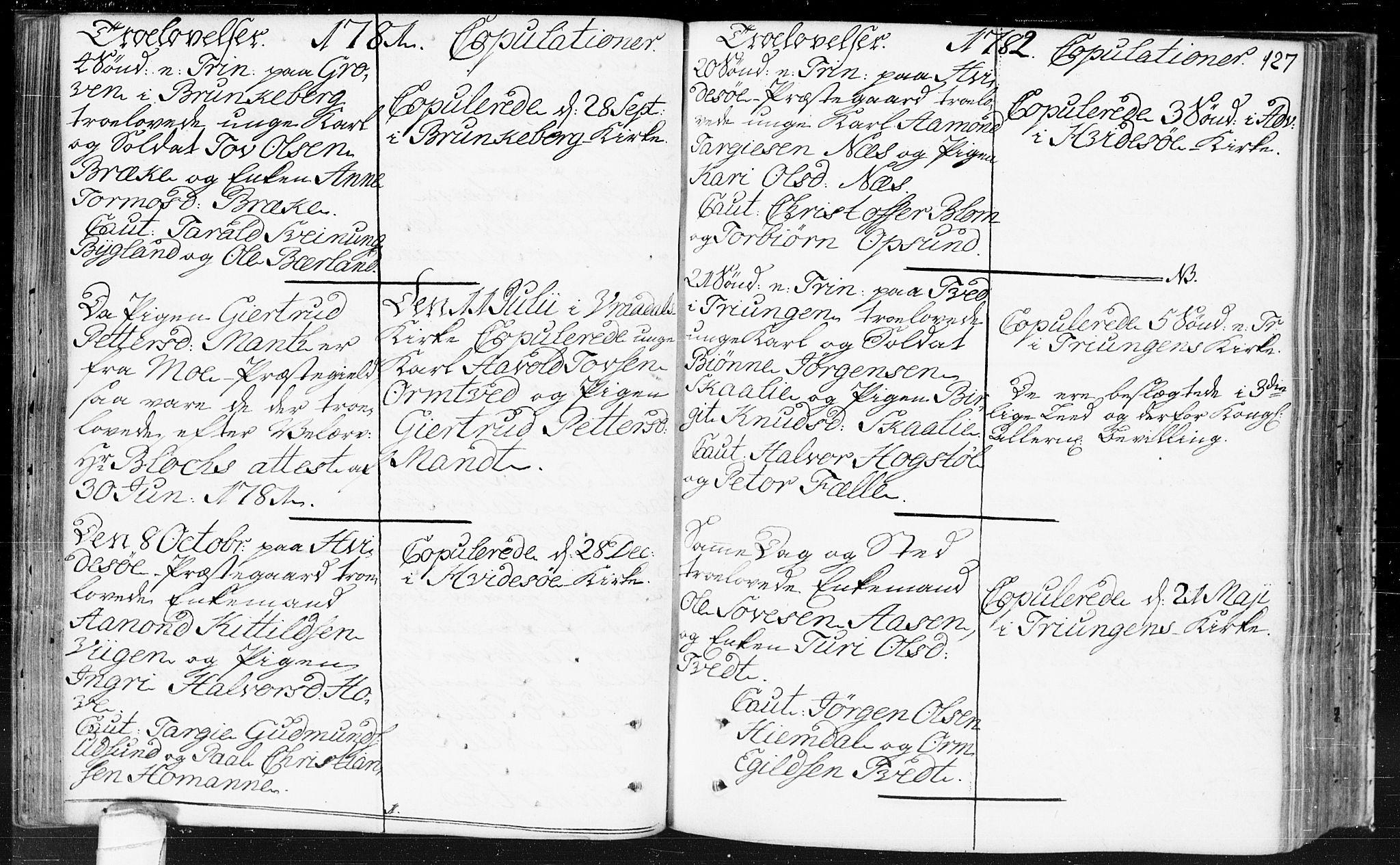 SAKO, Kviteseid kirkebøker, F/Fa/L0002: Ministerialbok nr. I 2, 1773-1786, s. 127