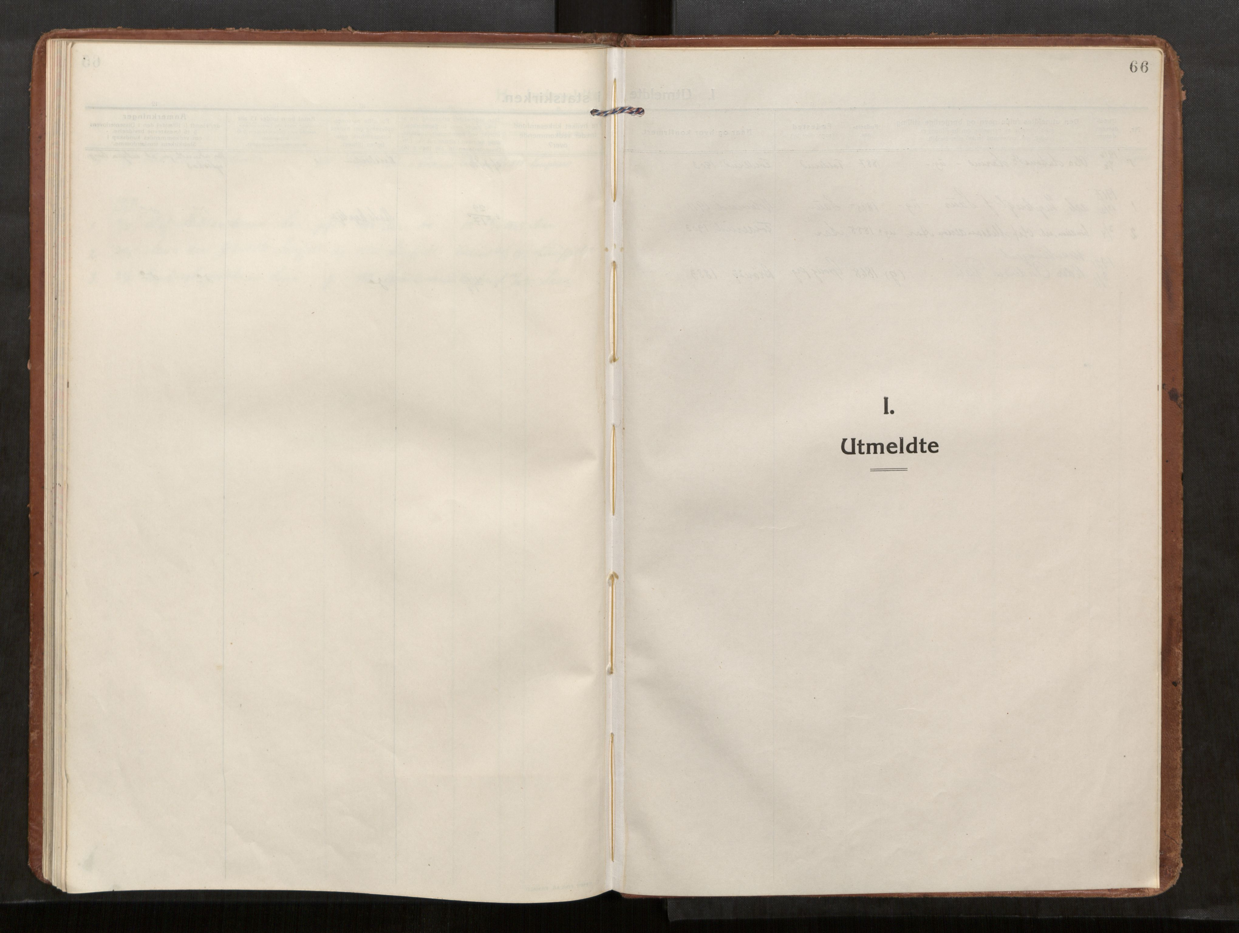 SAT, Kolvereid sokneprestkontor, H/Ha/Haa/L0002: Ministerialbok nr. 2, 1914-1926, s. 66