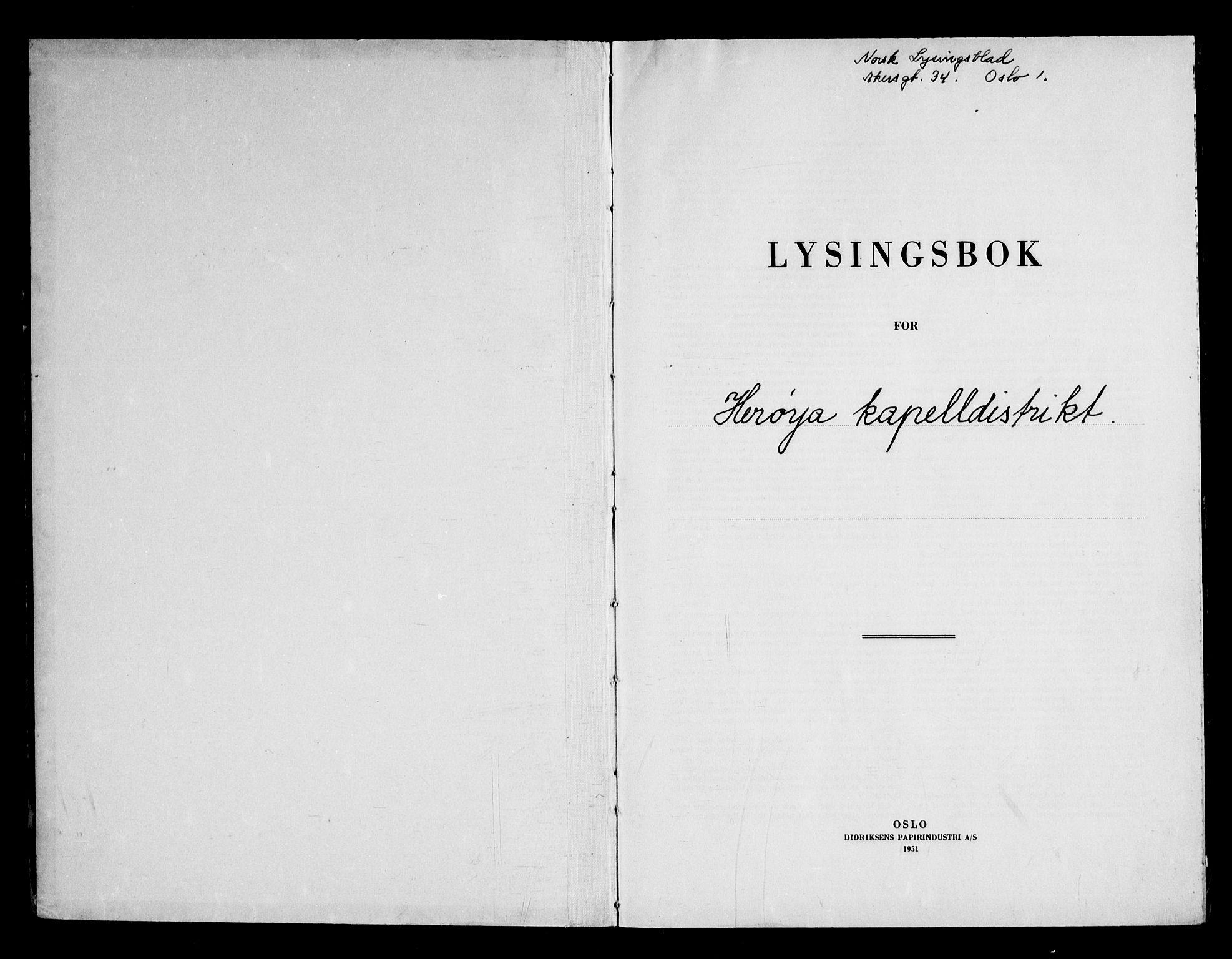 SAKO, Klevstrand kirkebøker, H/Ha: Lysningsprotokoll nr. 1, 1957-1969