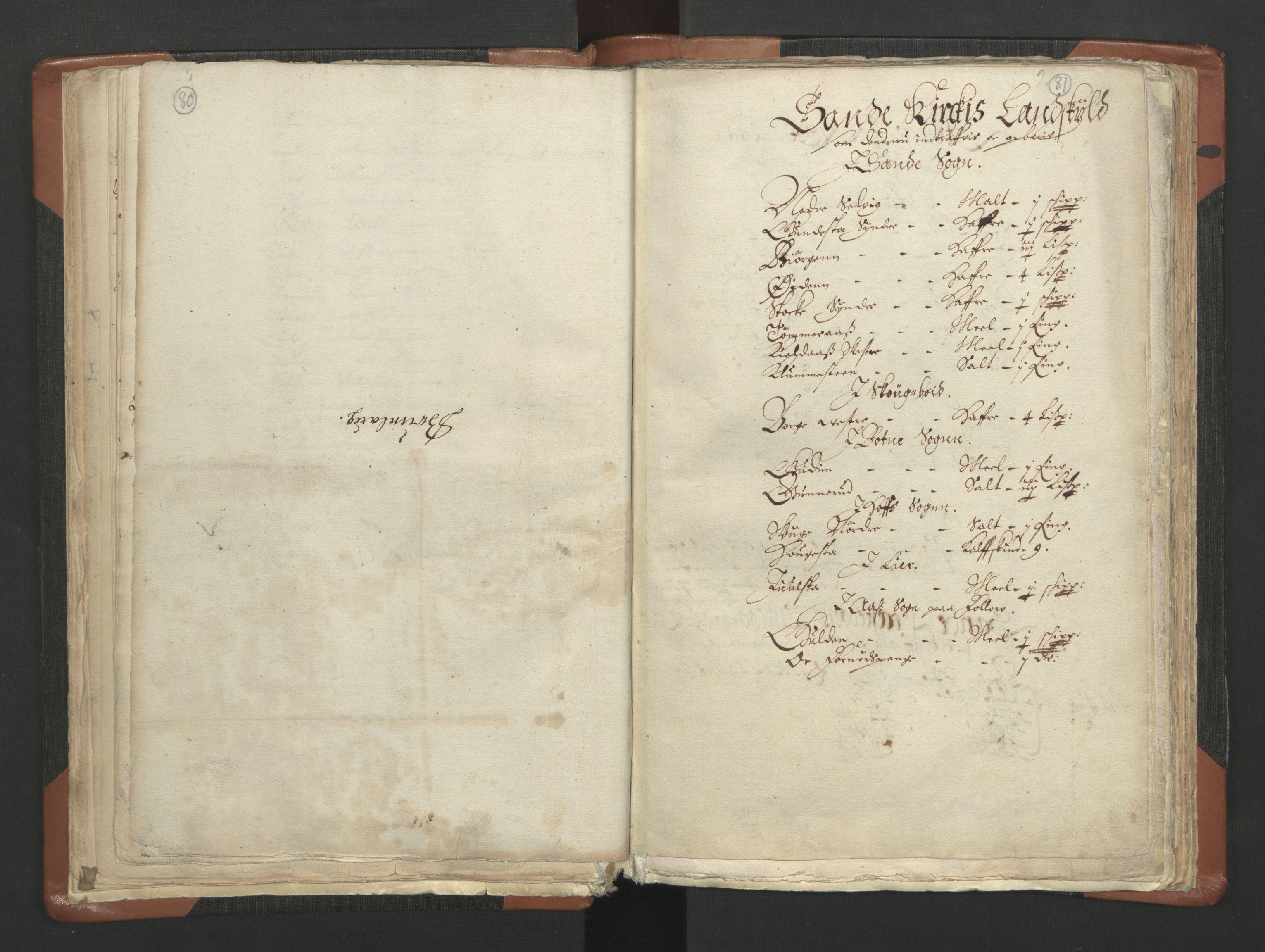 RA, Sogneprestenes manntall 1664-1666, nr. 10: Tønsberg prosti, 1664-1666, s. 80-81