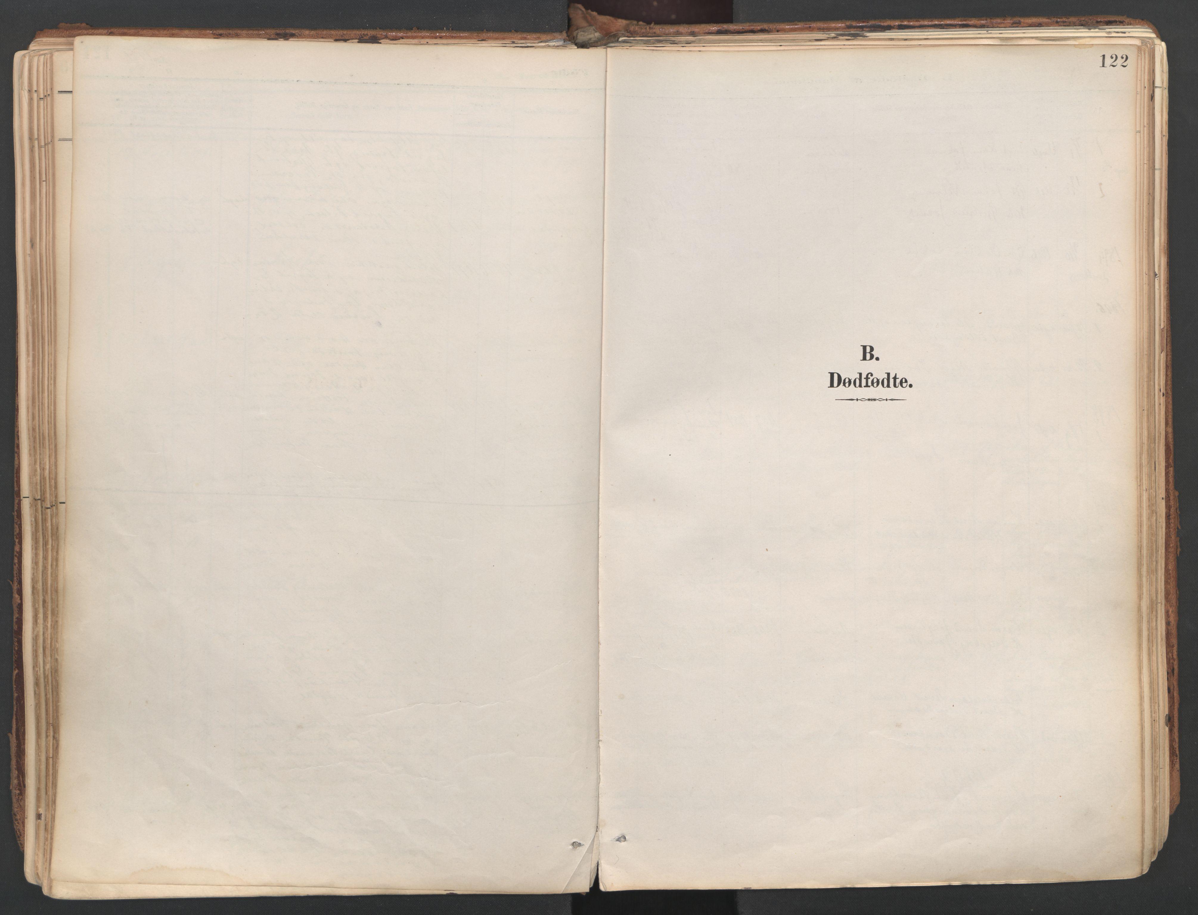 SAT, Ministerialprotokoller, klokkerbøker og fødselsregistre - Sør-Trøndelag, 687/L1004: Ministerialbok nr. 687A10, 1891-1923, s. 122