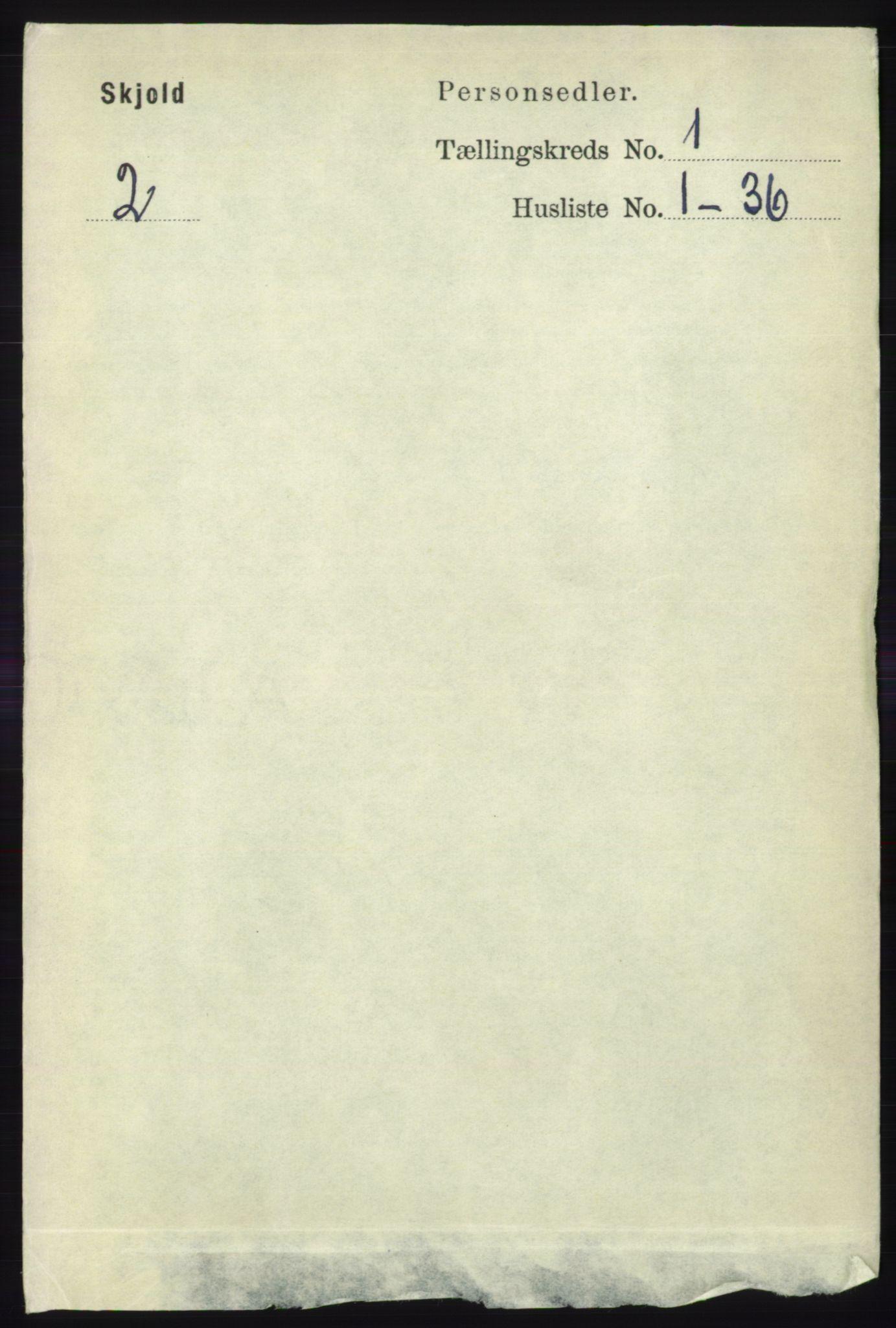 RA, Folketelling 1891 for 1154 Skjold herred, 1891, s. 72