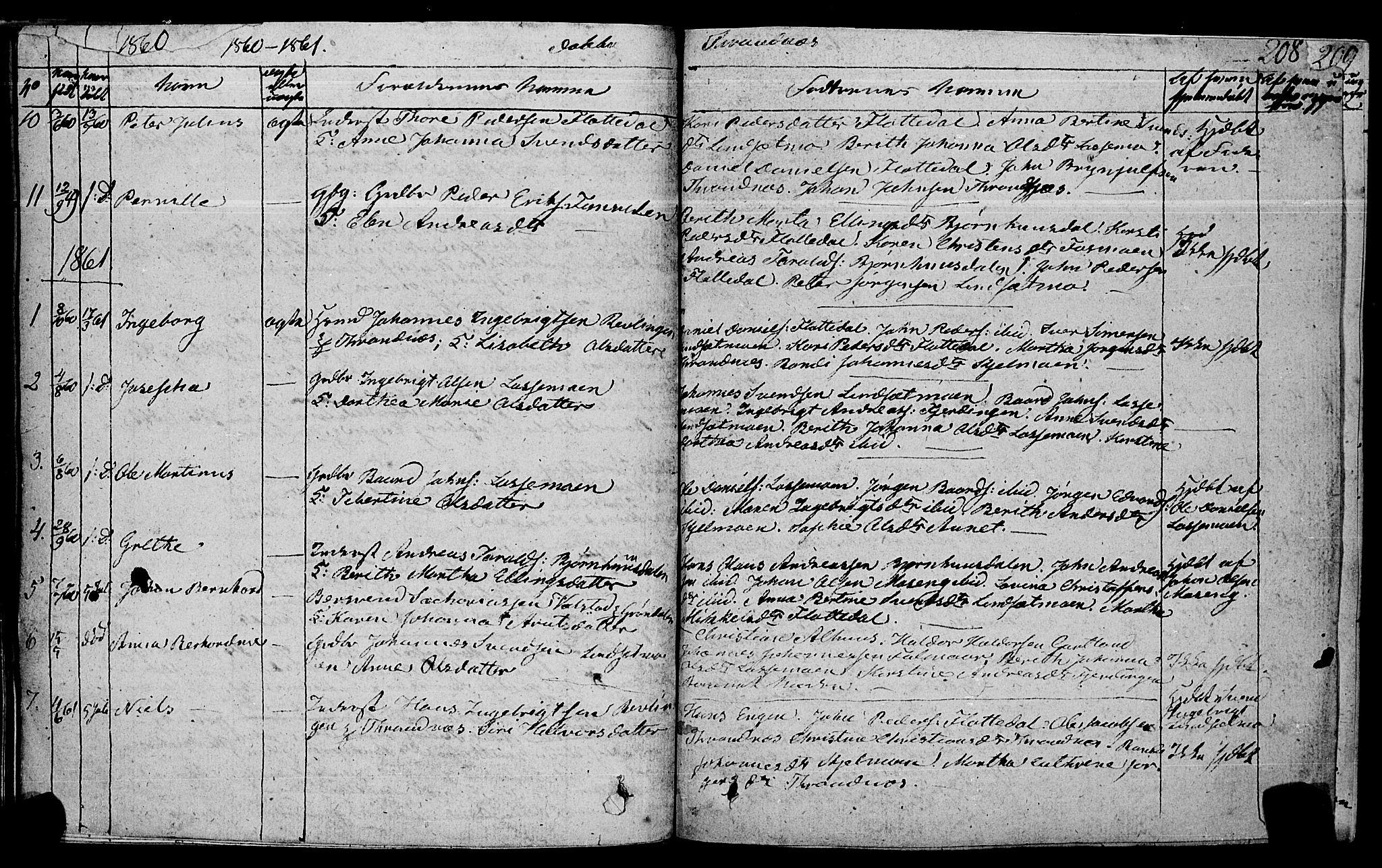SAT, Ministerialprotokoller, klokkerbøker og fødselsregistre - Nord-Trøndelag, 762/L0538: Ministerialbok nr. 762A02 /2, 1833-1879, s. 208